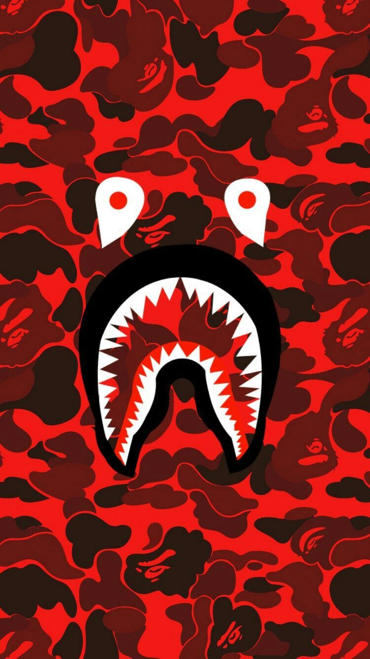 Red Bape Wallpapers Top Free Red Bape Backgrounds Wallpaperaccess