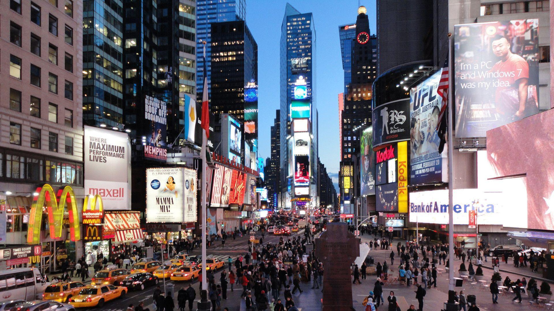 Times Square Winter Wallpapers Top Free Times Square