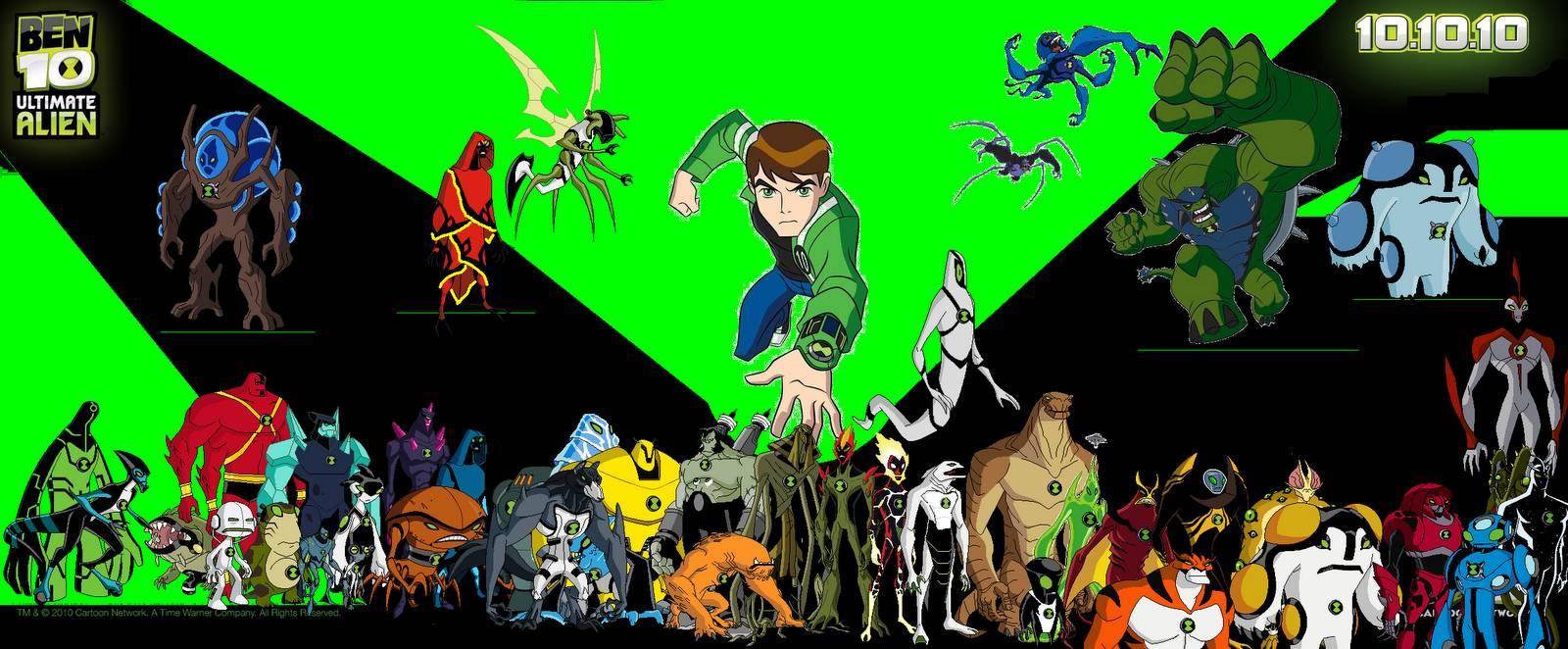 Ben 10 Alien Swarm Wallpapers Top Free Ben 10 Alien Swarm