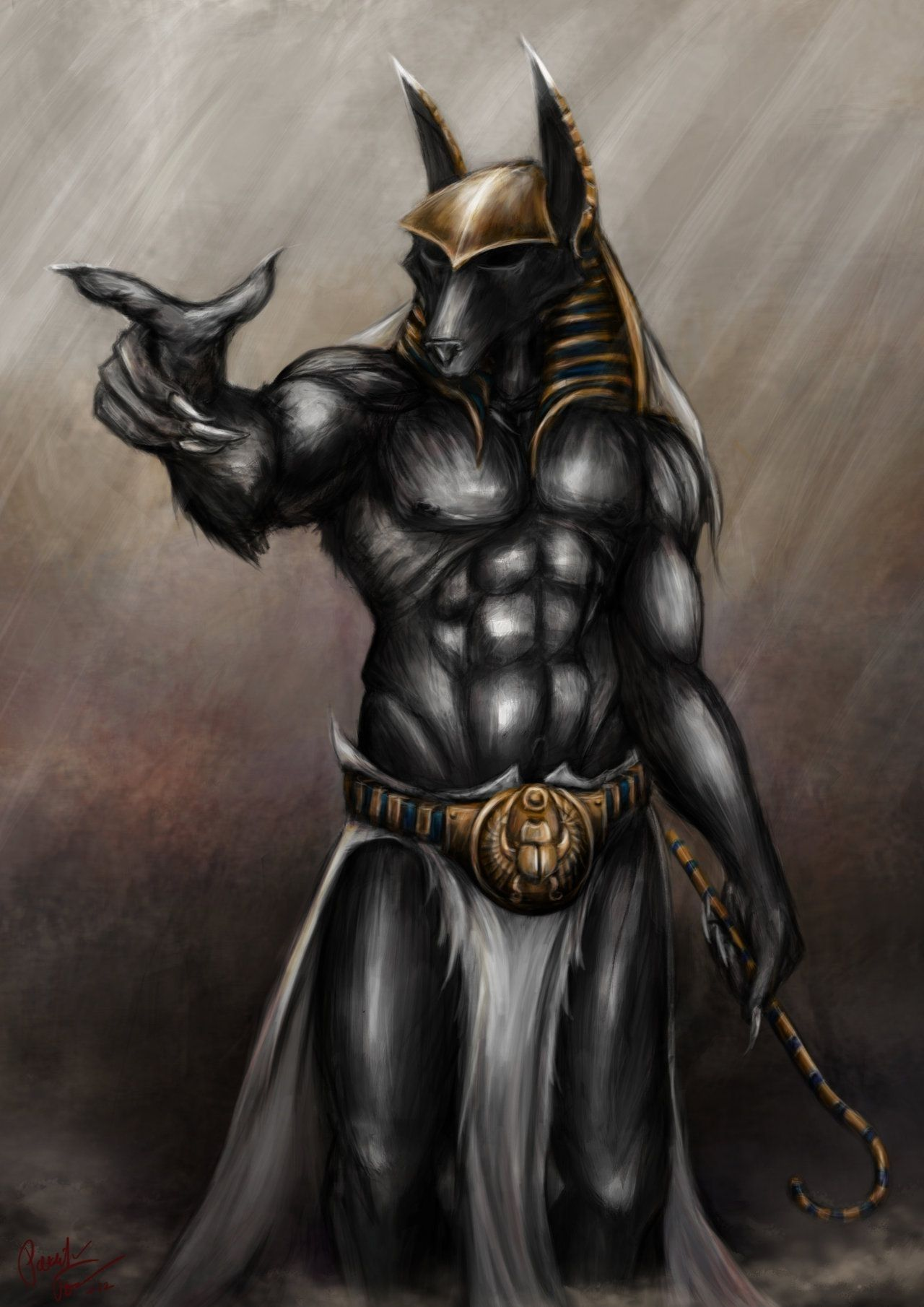 Anubis Egyptian God Wallpapers - Top Free Anubis Egyptian ...