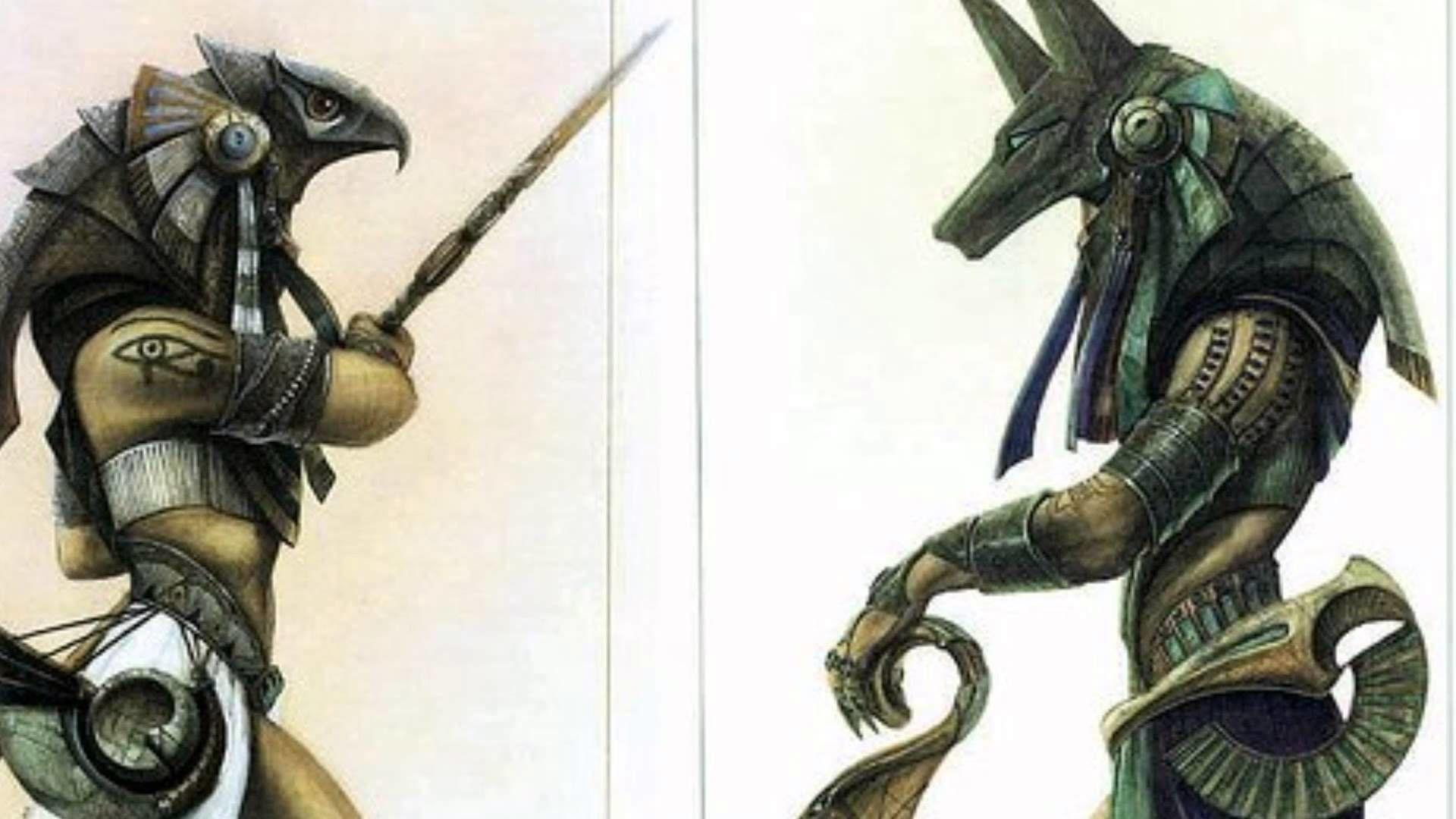 Egypt Warrior Illustration Anubis Pyramid Fantasy Art: Top Free 4K Anubis Backgrounds