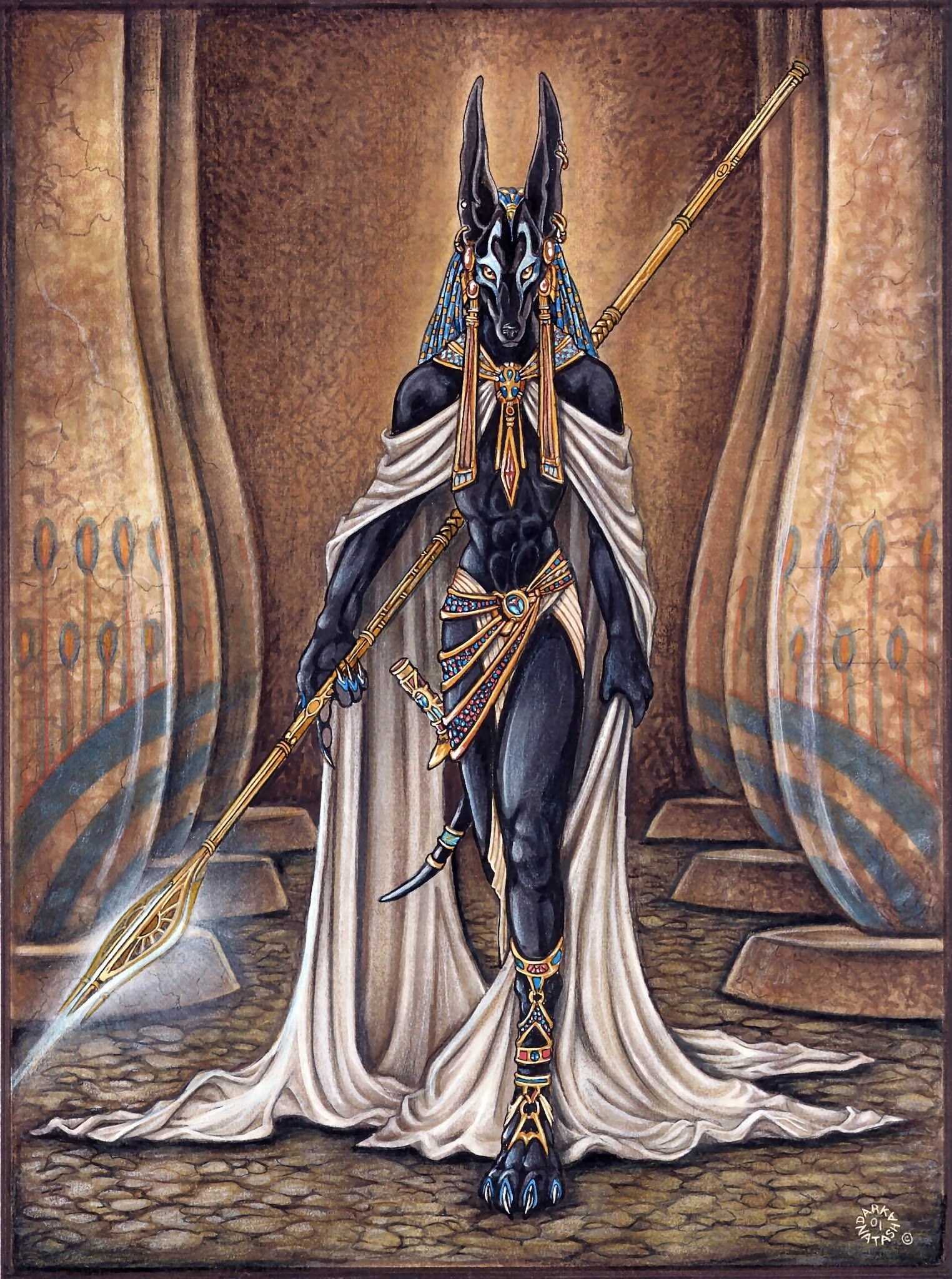 Anubis Egyptian God Wallpapers - Top Free Anubis Egyptian