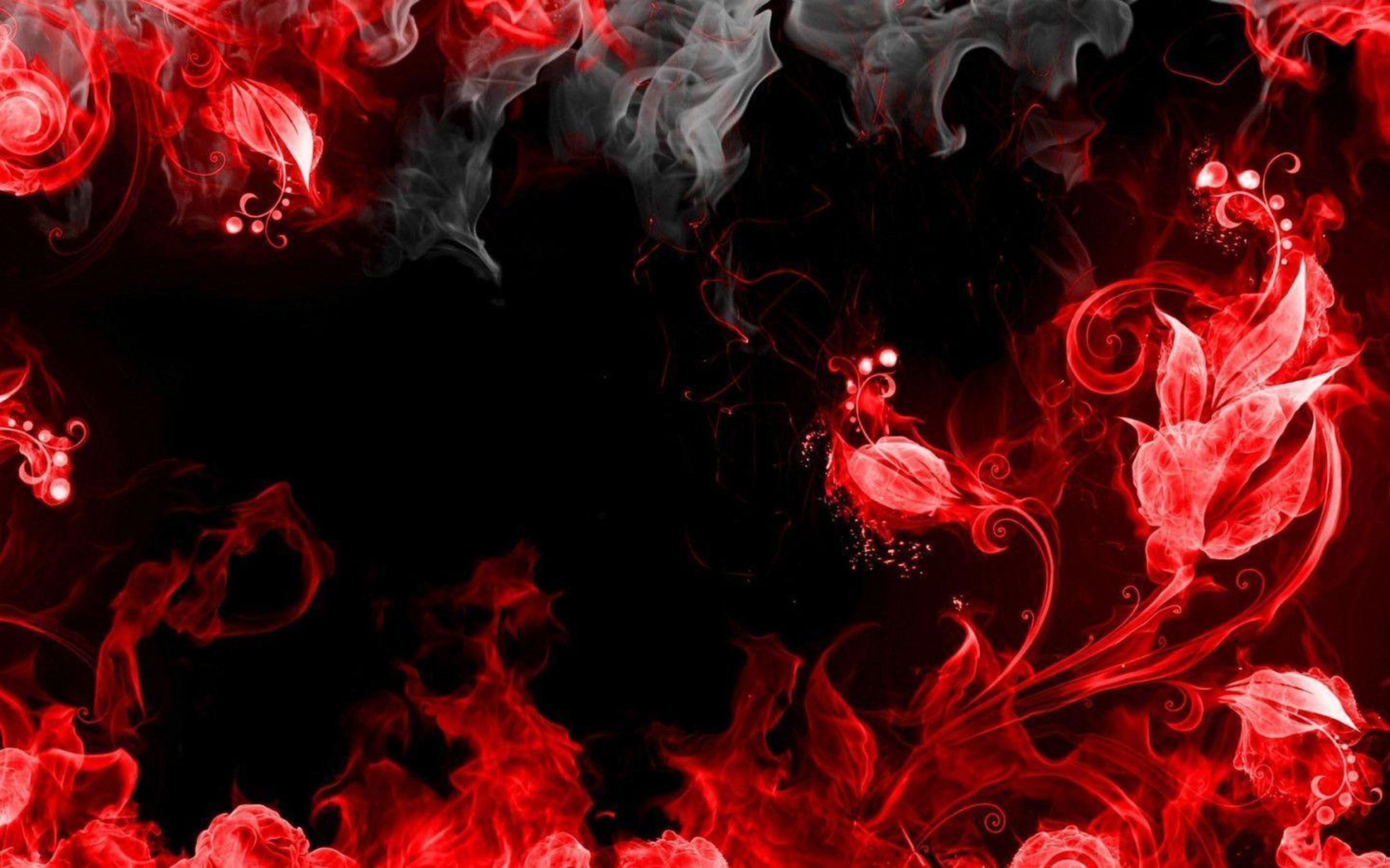 Cool Wallpaper Red And Black