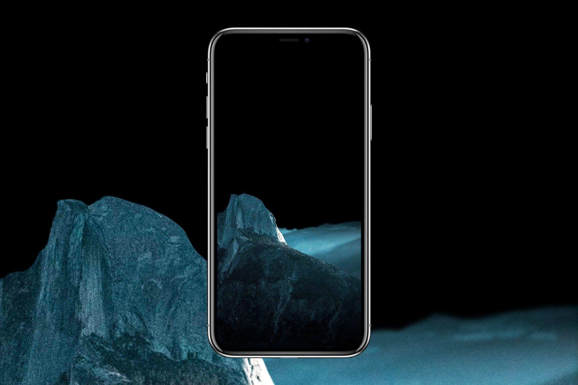 2000x1334 Hình nền đen cho iPhone X Inspirational 5 True Black Oled