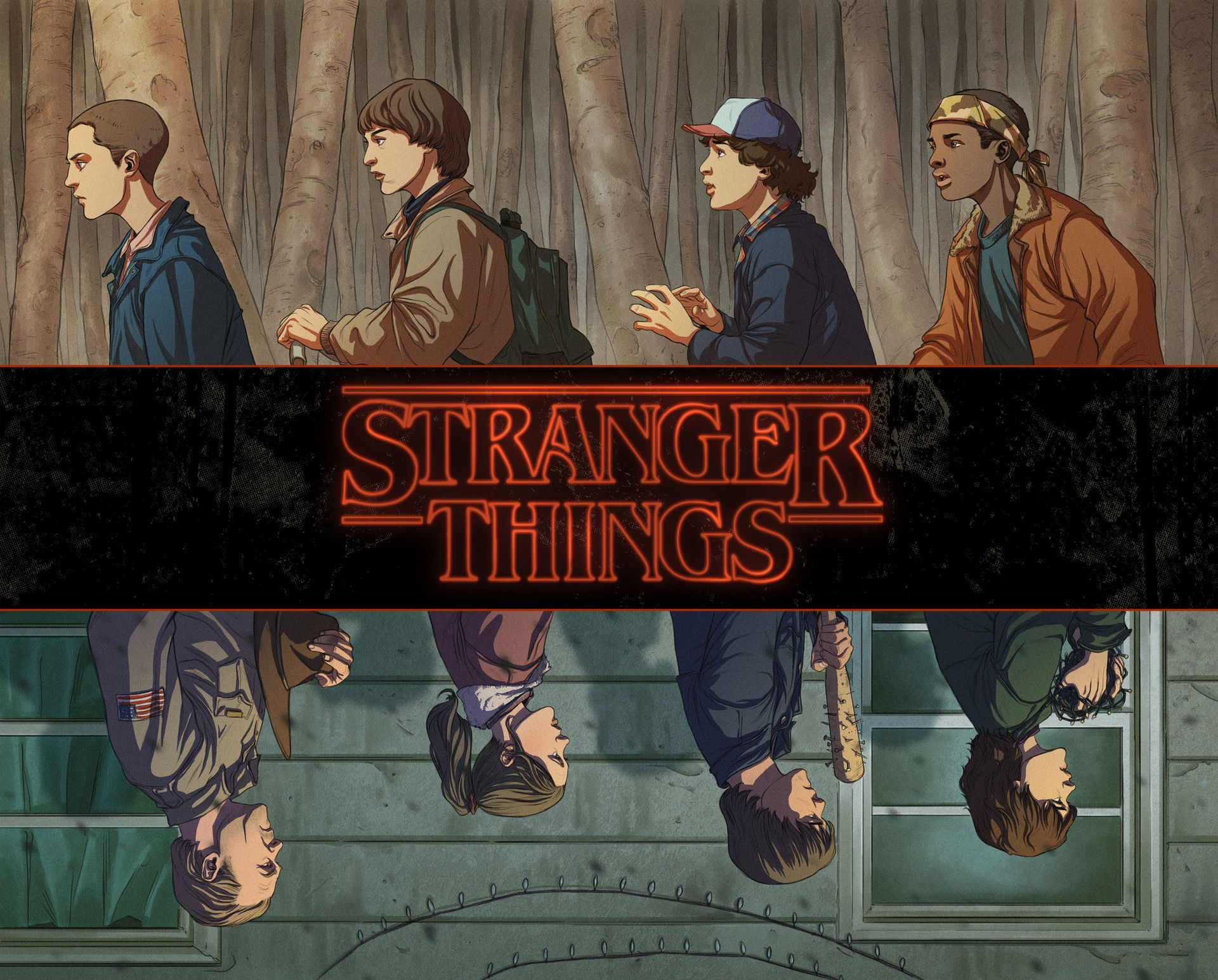 Stranger Things Aesthetic Desktop Wallpapers Top Free Stranger