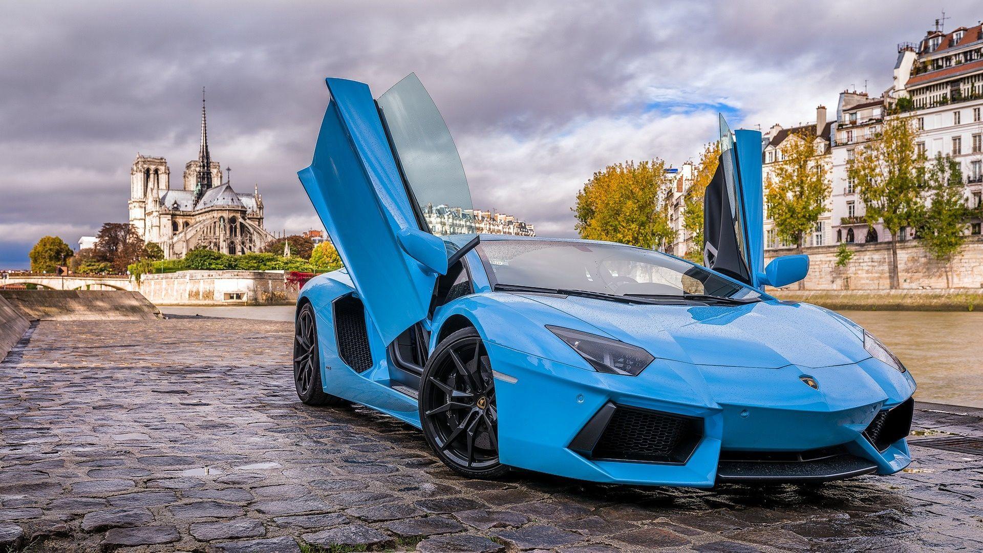 Blue Lamborghini Aventador Wallpapers Top Free Blue Lamborghini Aventador Backgrounds Wallpaperaccess