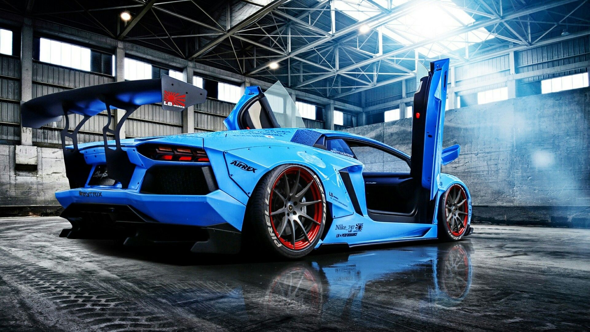 Blue Lamborghini Aventador Wallpapers - Top Free Blue ...