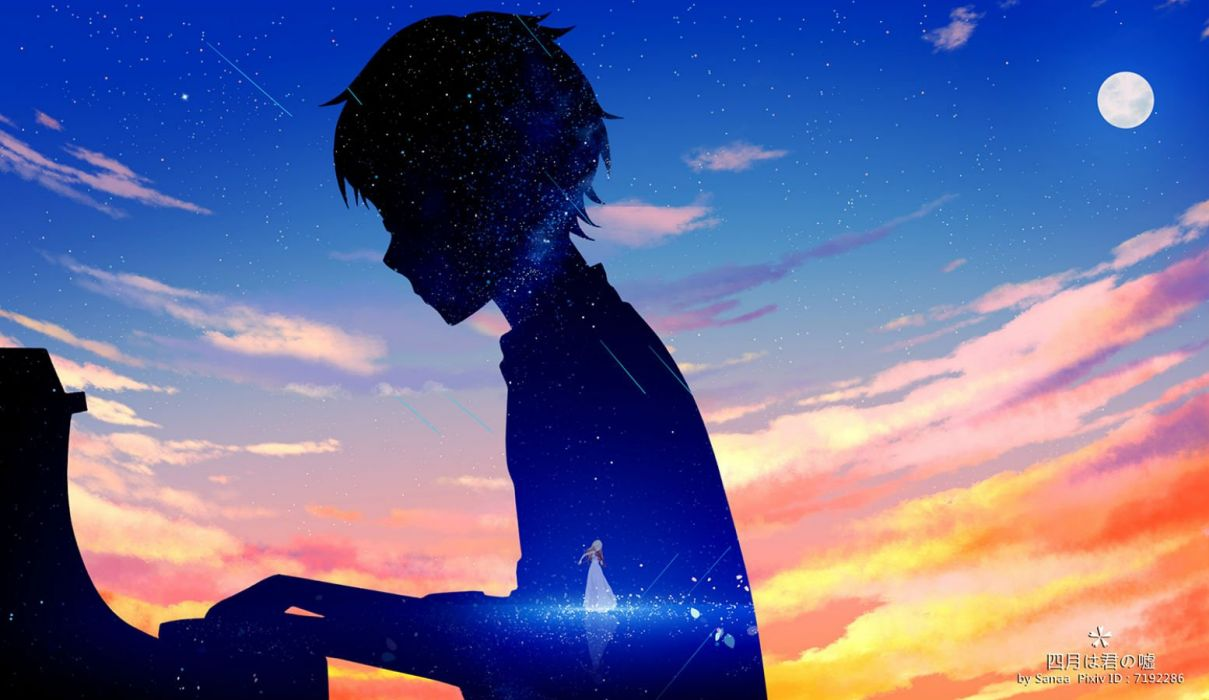 Your Lie In April Piano Wallpapers Top Free Your Lie In April
