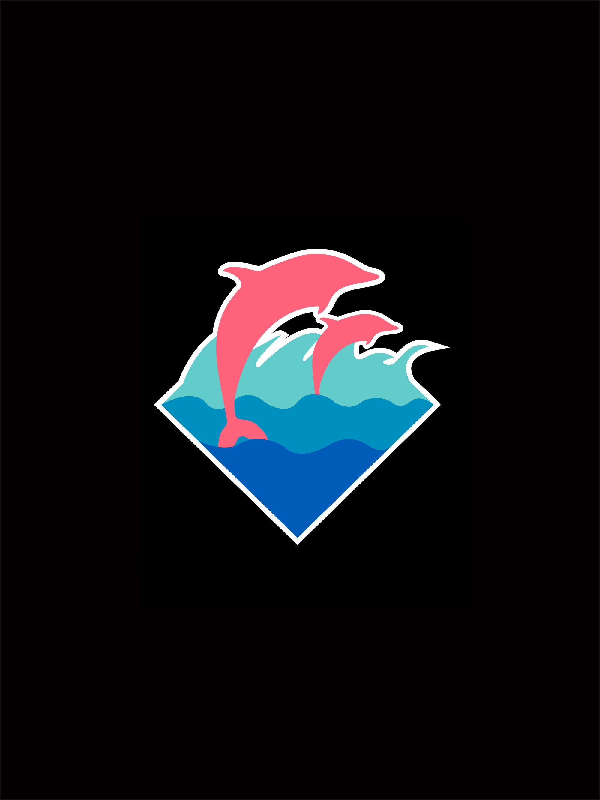 40 Best Free Pink Dolphin Logo Wallpapers