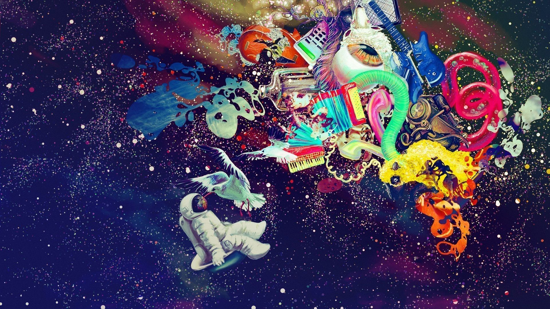 Trippy Astronaut Wallpapers Top Free Trippy Astronaut