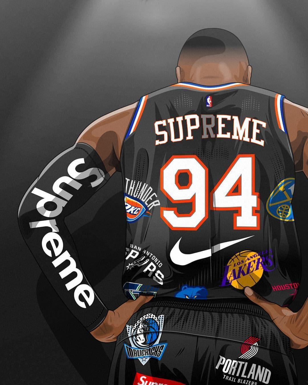 Supreme Basketball Wallpapers Top Free Supreme Basketball