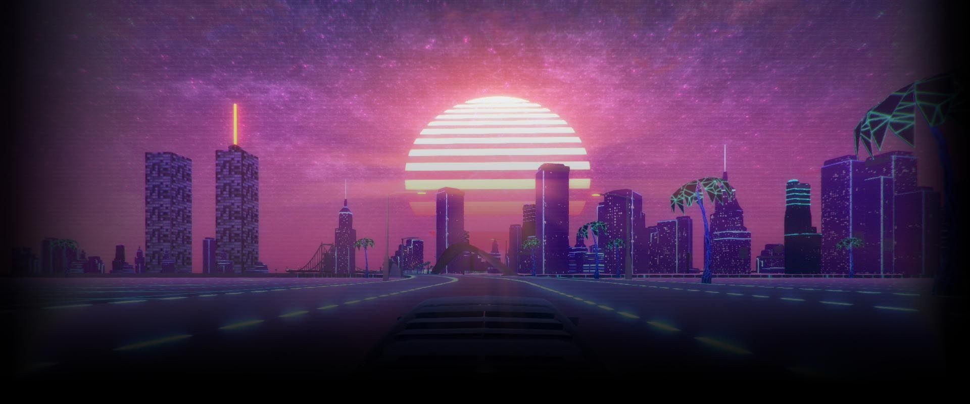 Sunset Aesthetic Vapor Wallpapers Top Free Sunset Aesthetic