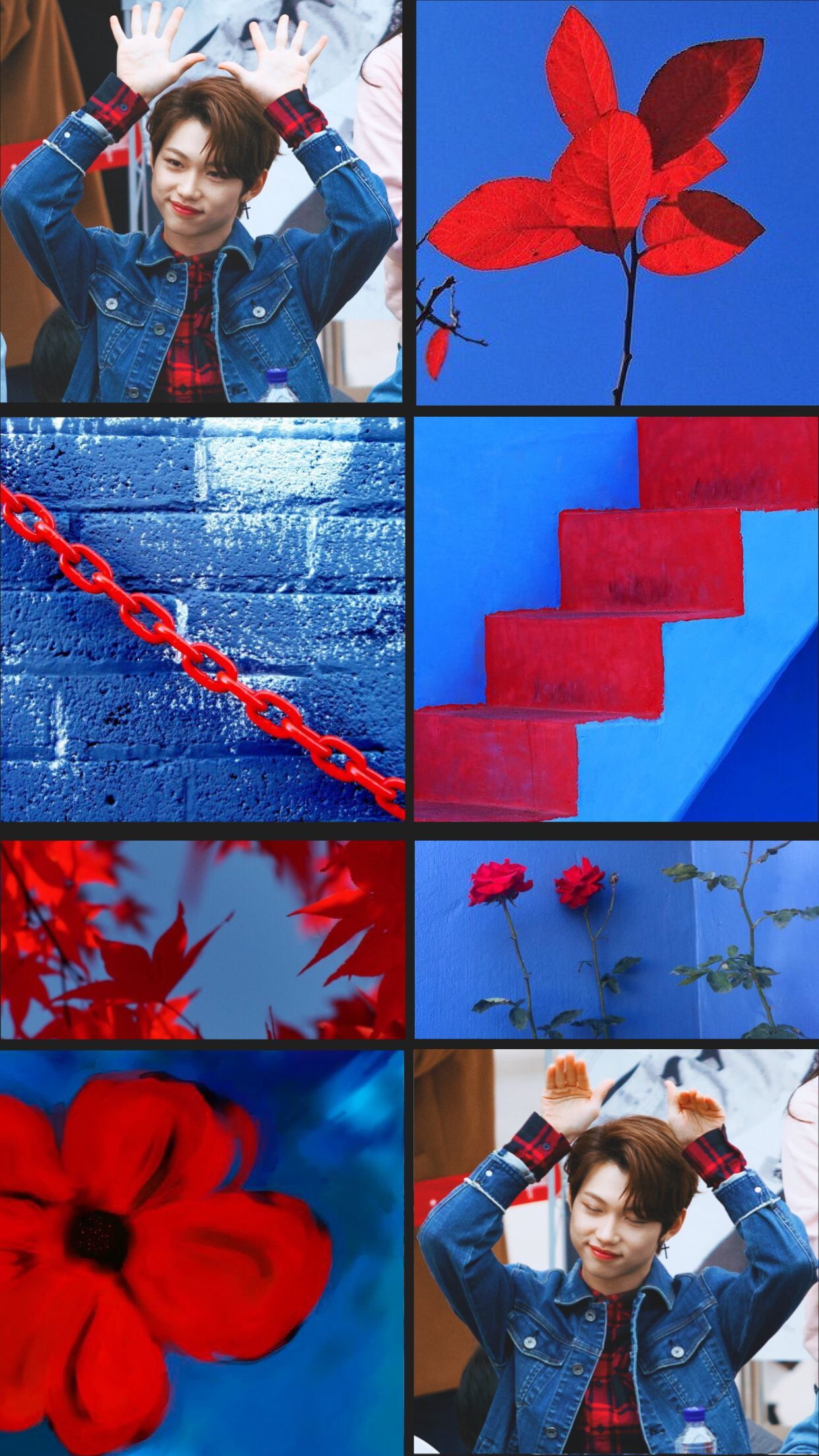 Red And Blue Aesthetic Wallpapers Top Free Red And Blue Aesthetic Backgrounds Wallpaperaccess
