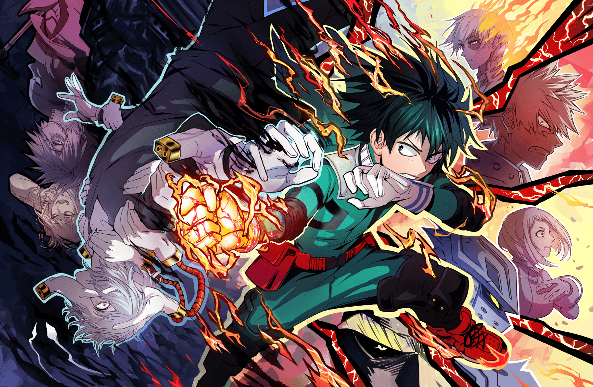 My Hero Academia 4K Wallpapers - Top Free My Hero Academia ...