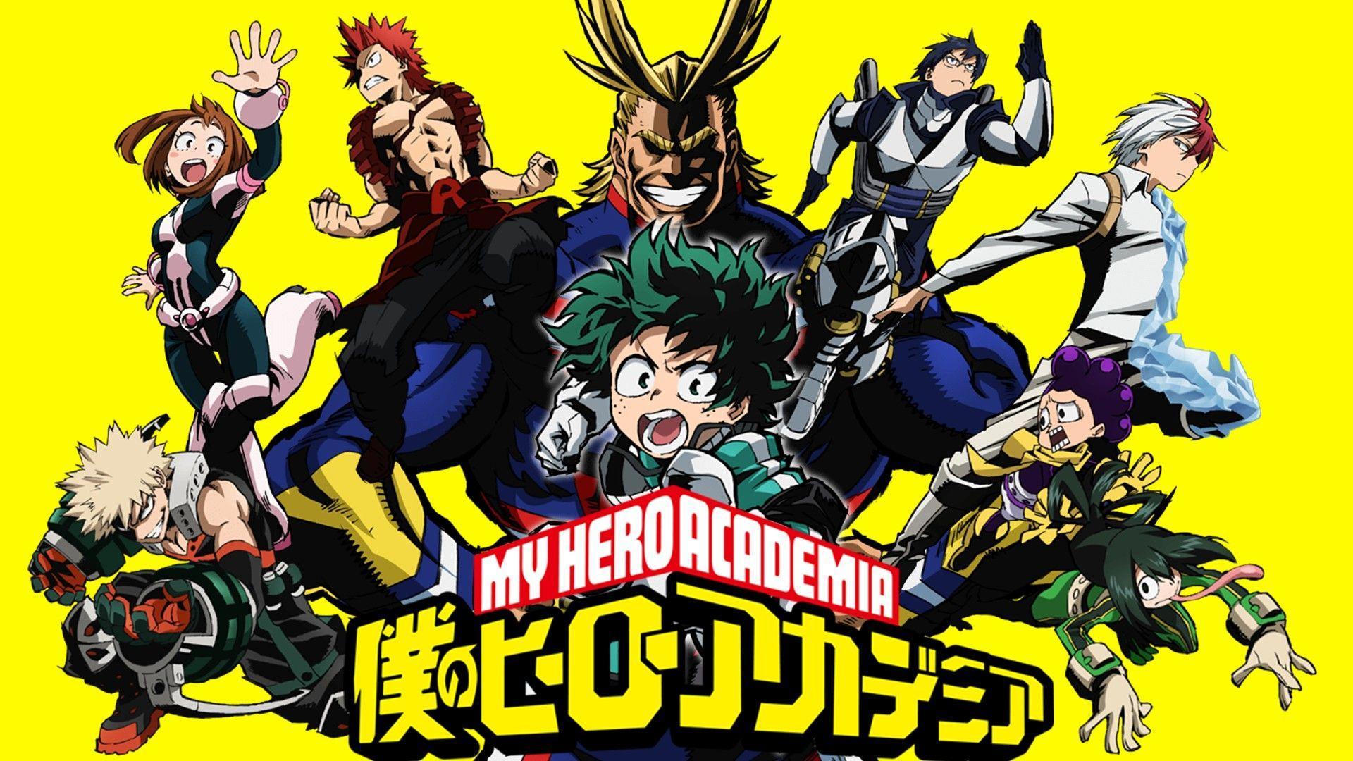 My Hero Academia 4k Wallpapers Top Free My Hero Academia 4k