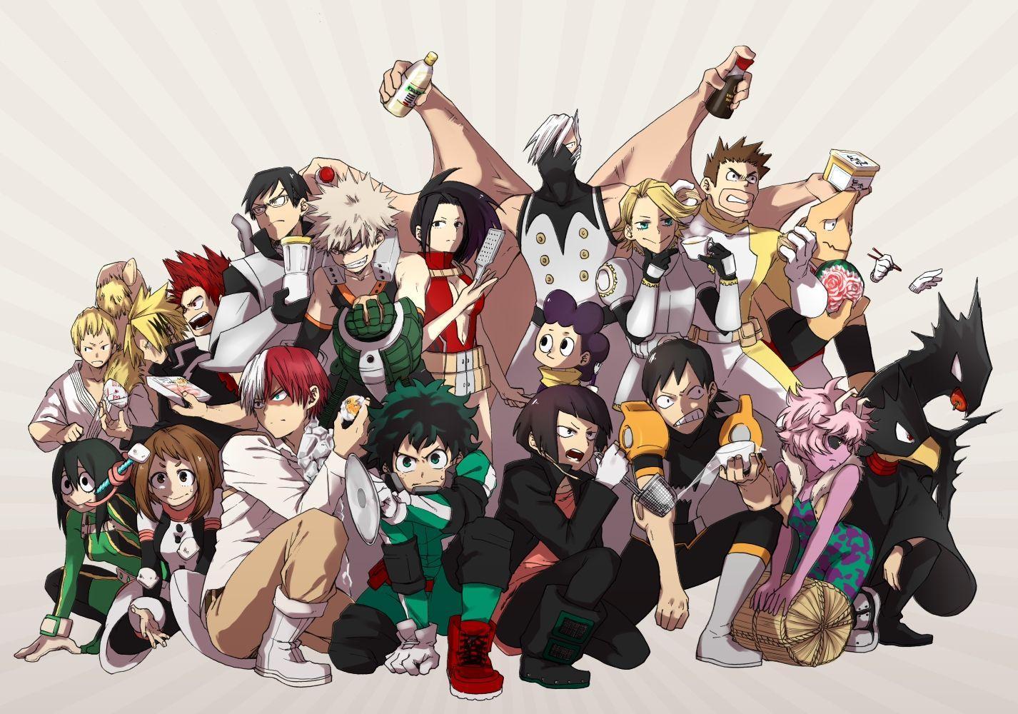 My Hero Academia 4K Wallpapers - Top Free My Hero Academia ...