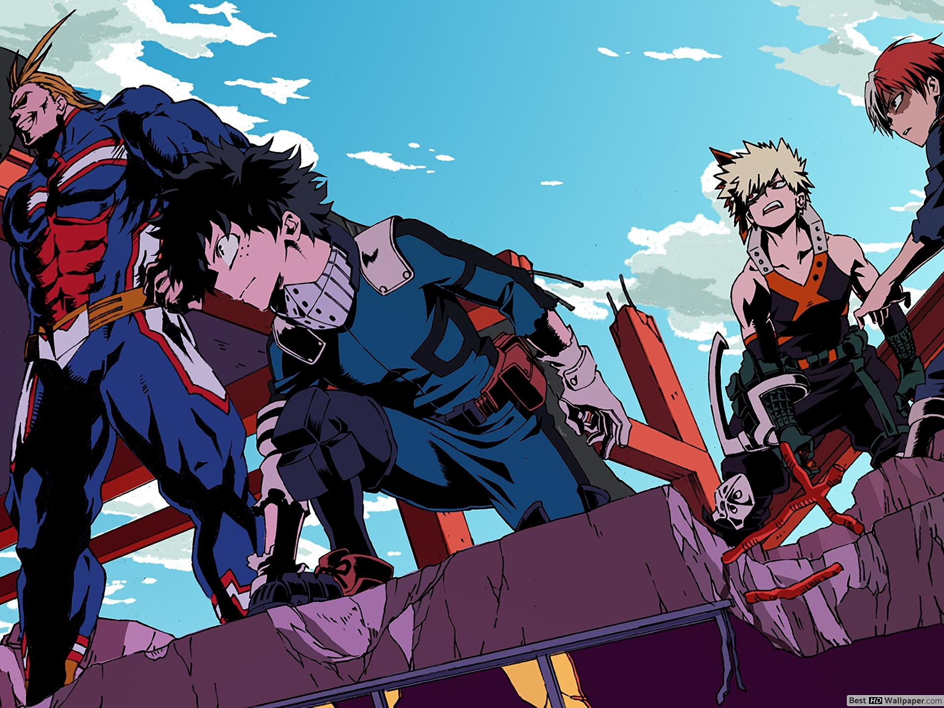 My Hero Academia 4k Wallpapers Top Free My Hero Academia 4k Backgrounds Wallpaperaccess