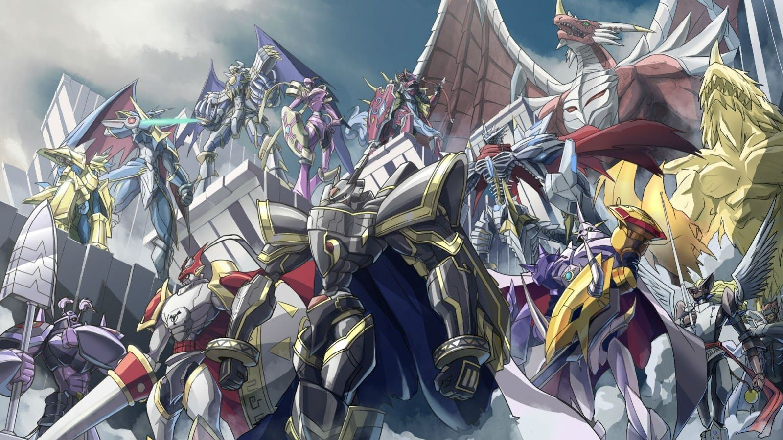 Digimon Scenery Wallpapers Top Free Digimon Scenery Backgrounds
