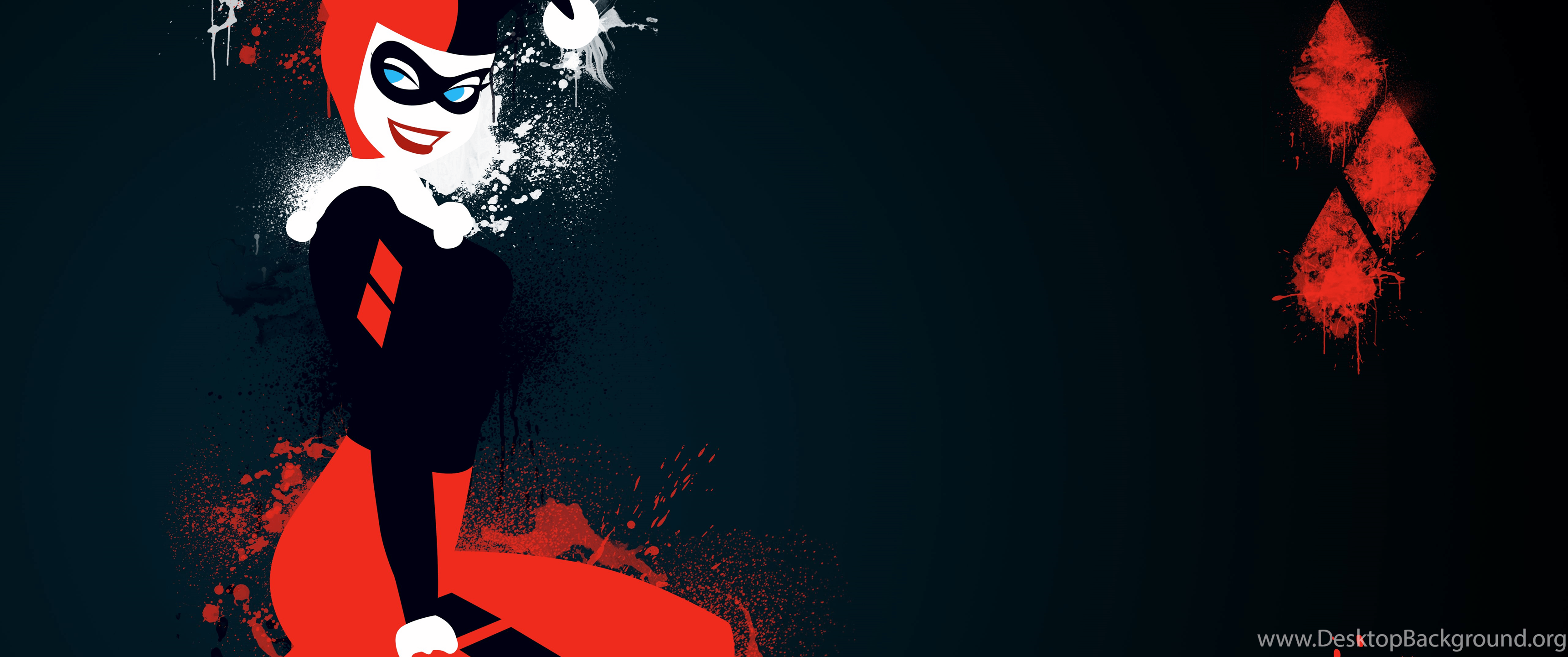 2560 X 1024 Harley Quinn Wallpapers - Top Free 2560 X 1024 Harley