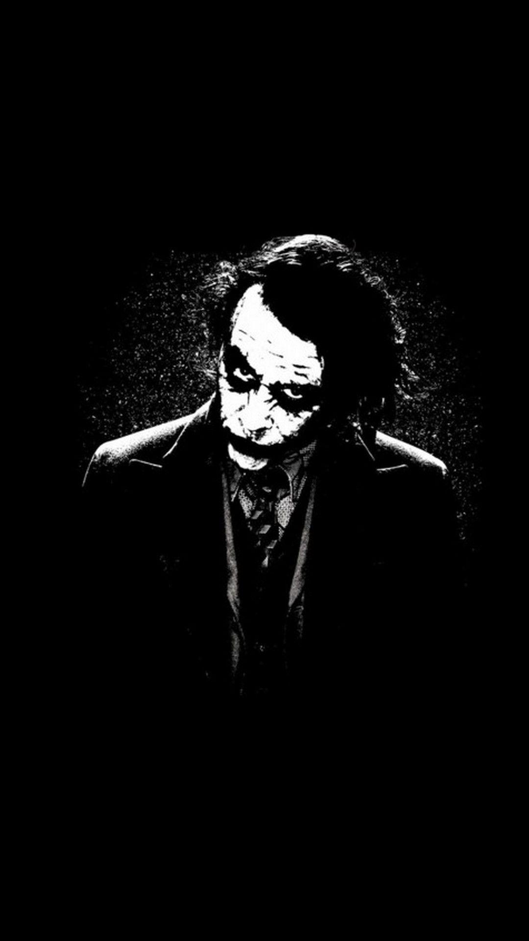 Joker Black And White Wallpapers Top Free Joker Black And White