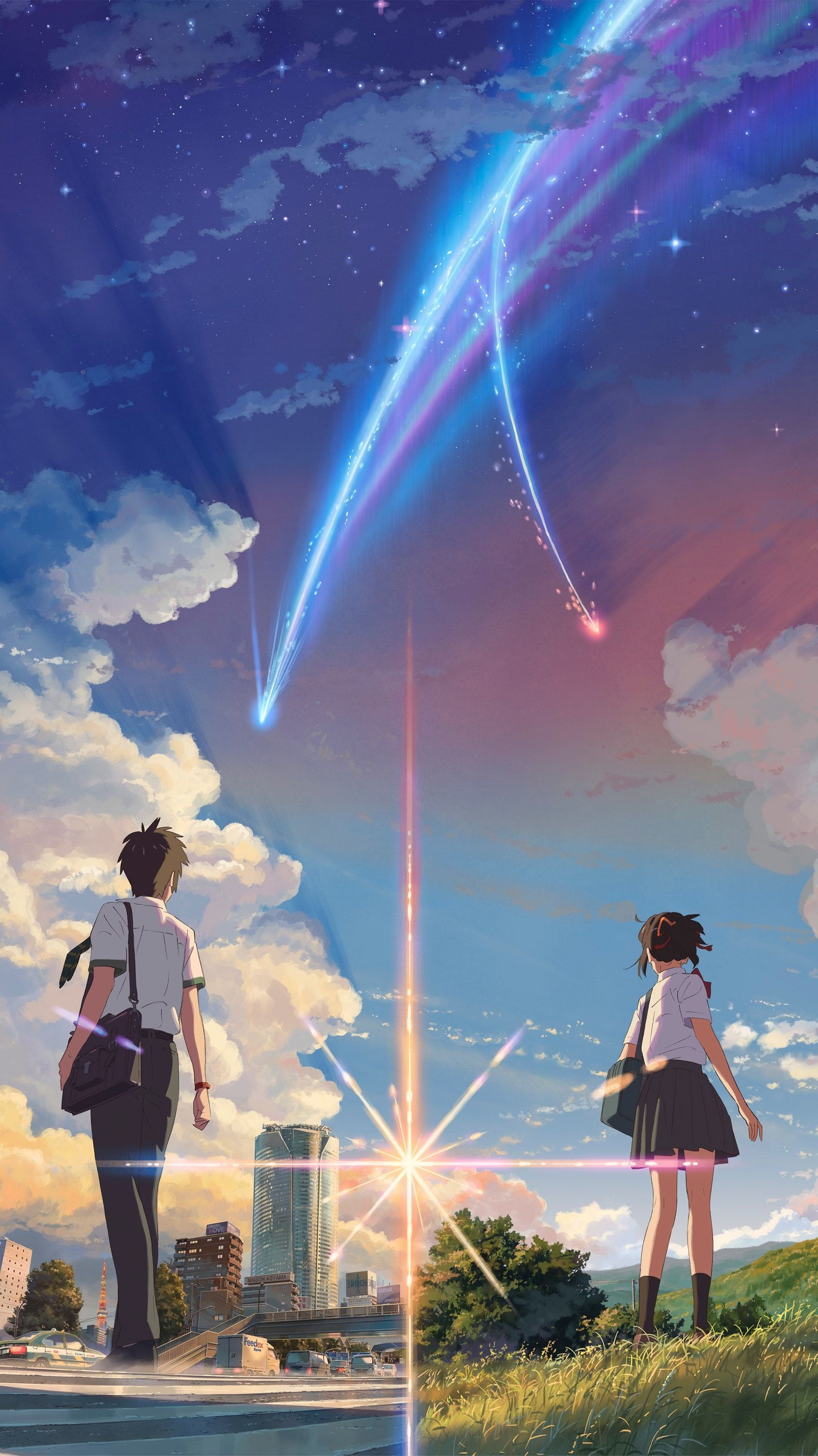 Your Name Anime 2016 Wallpapers Top Free Your Name Anime 2016 Backgrounds Wallpaperaccess