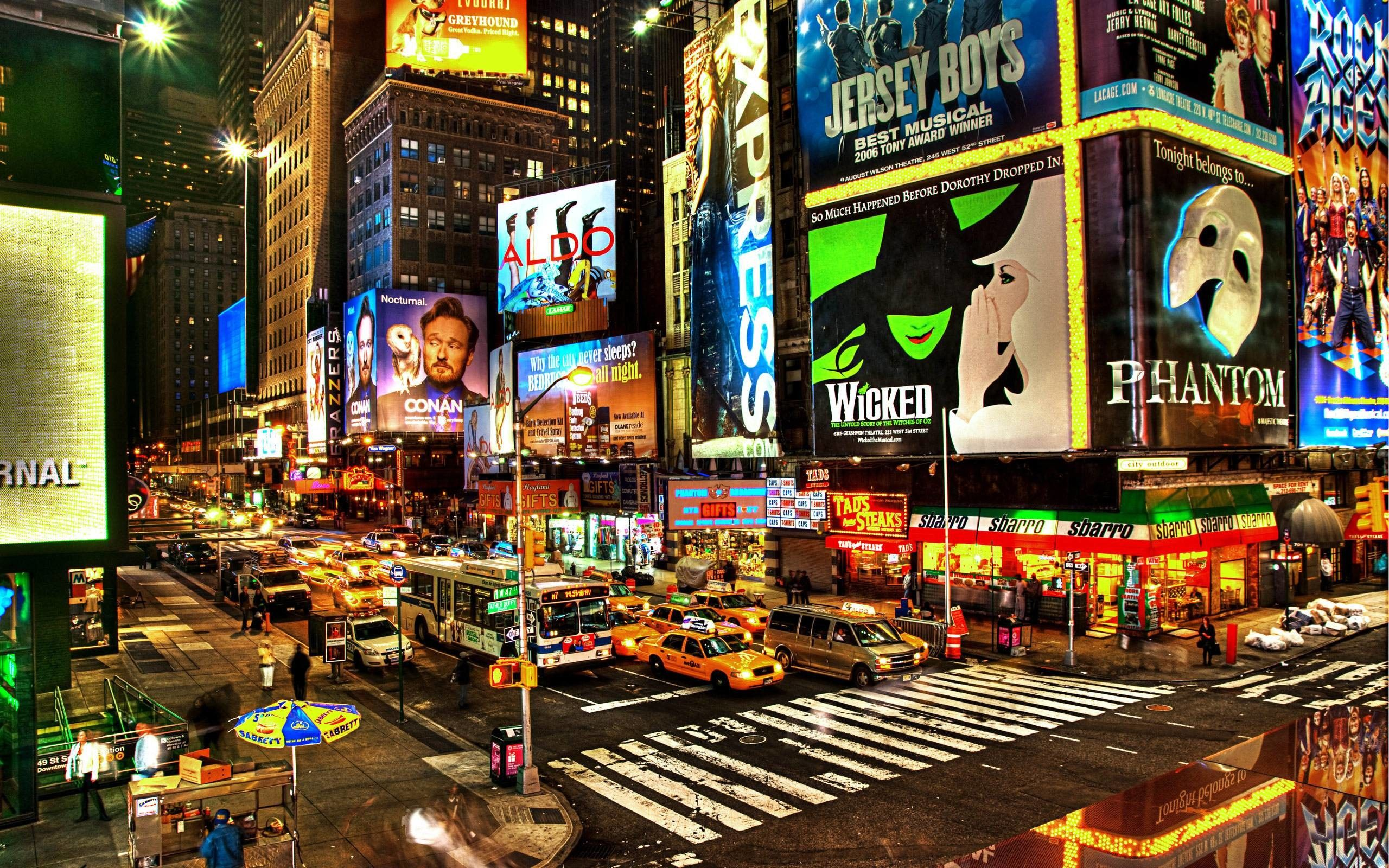 Times Square At Night Wallpapers Top Free Times Square At Night
