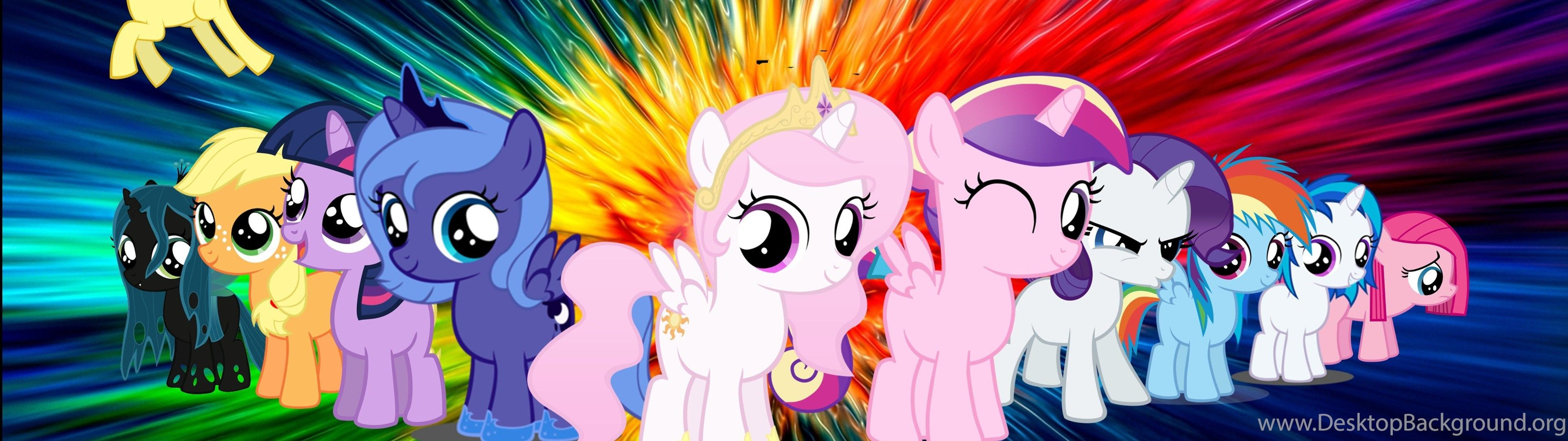 My Little Pony Dual Screen Wallpapers Top Free My Little Pony
