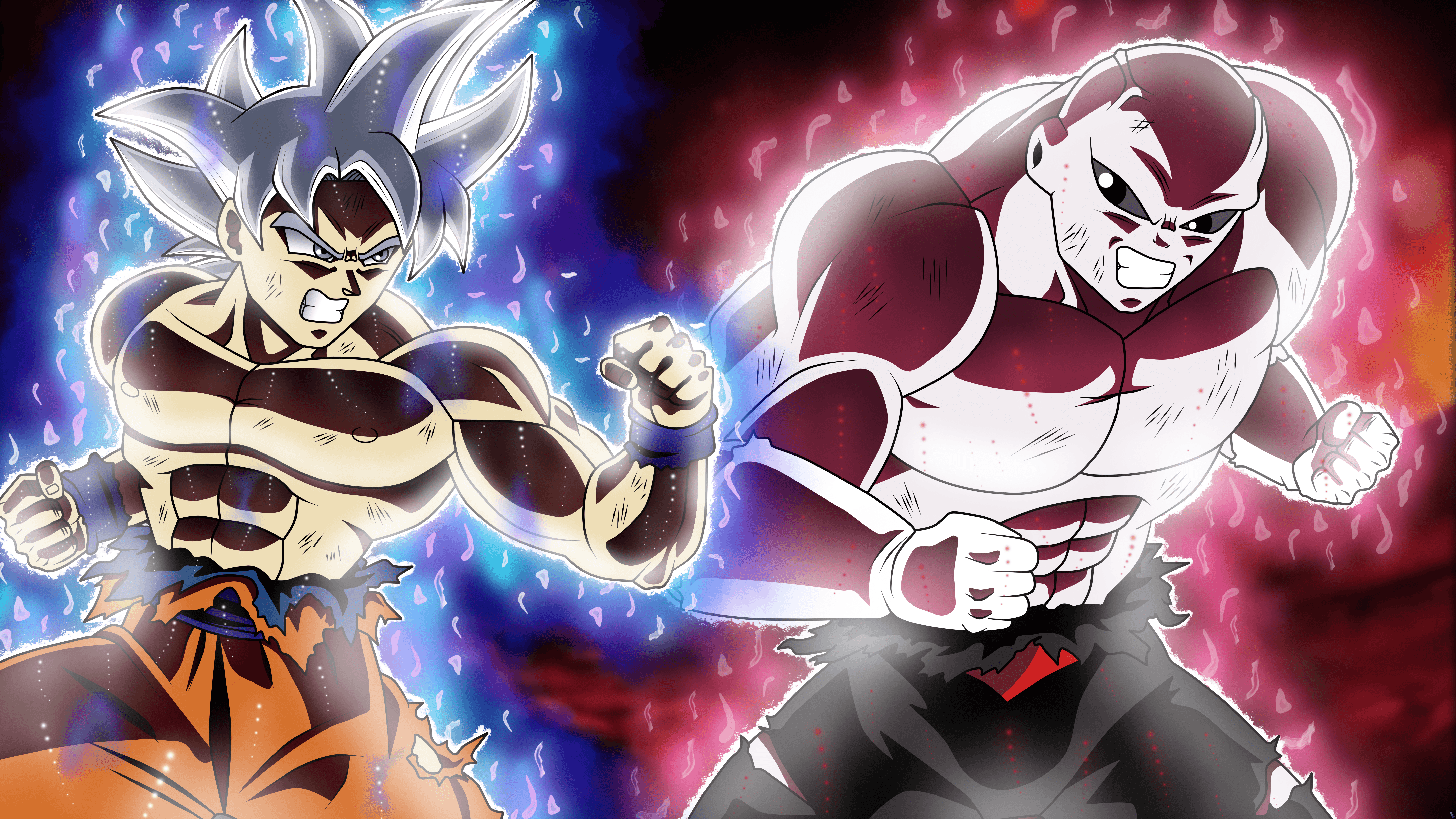 Goku Vs Jiren Wallpapers Top Free Goku Vs Jiren Backgrounds