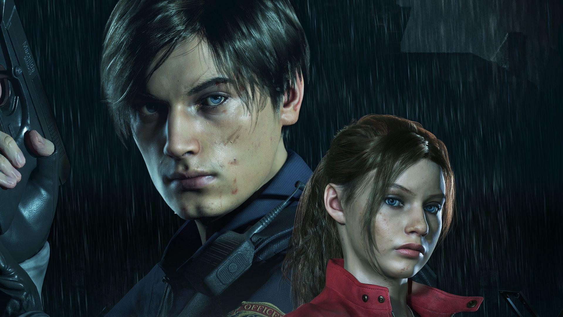 Leon Resident Evil 4k Wallpapers Top Free Leon Resident Evil 4k