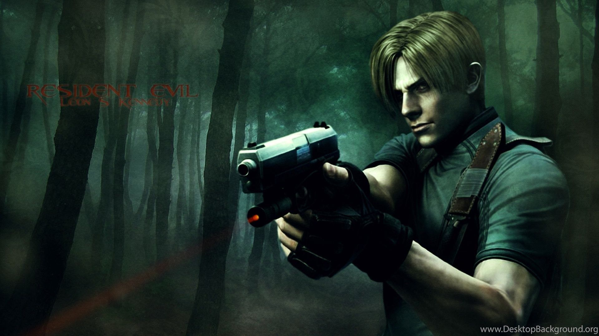 Leon Resident Evil 4K Wallpapers - Top Free Leon Resident