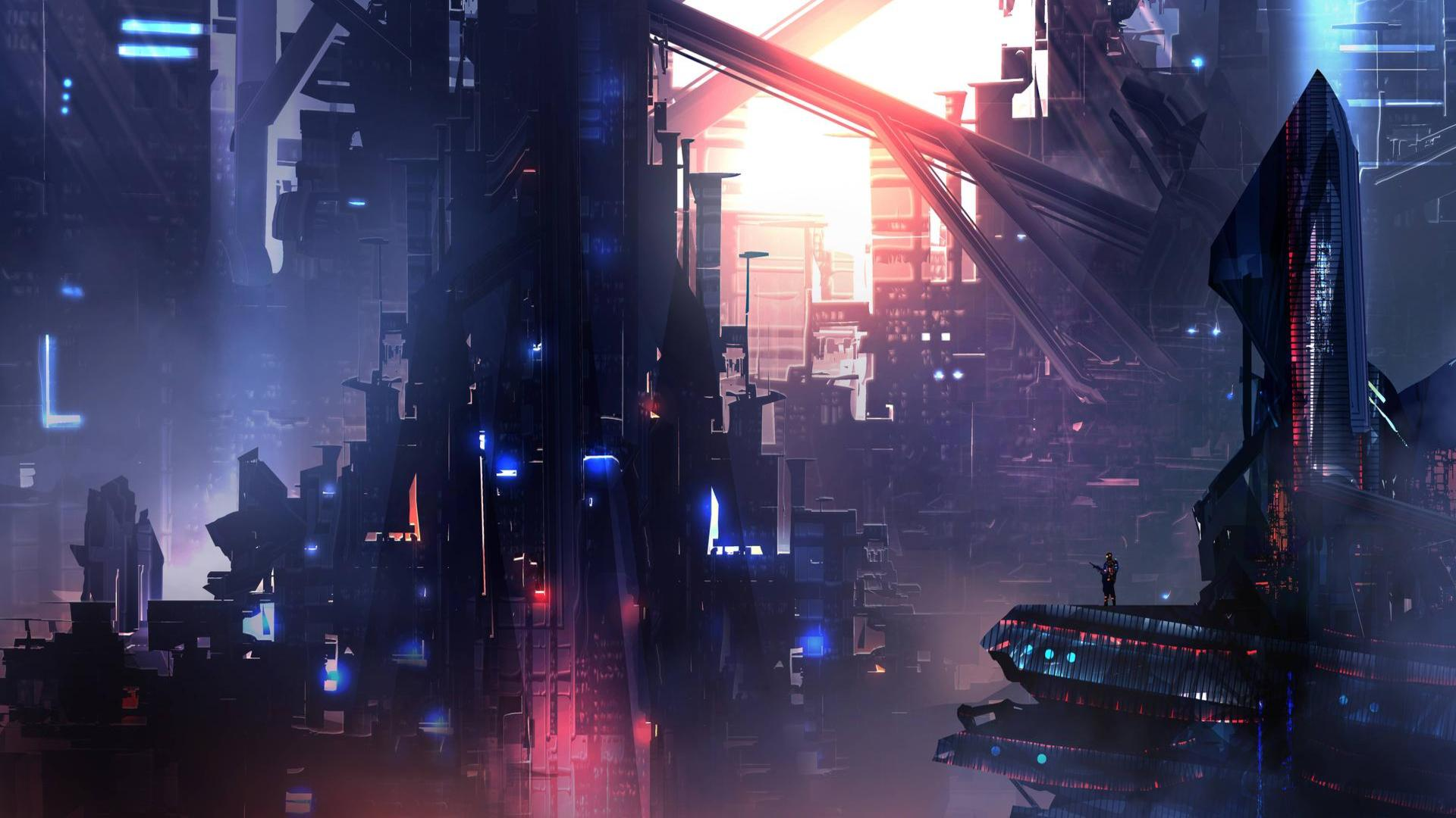 Cyber City Wallpapers - Top Free Cyber City Backgrounds ...