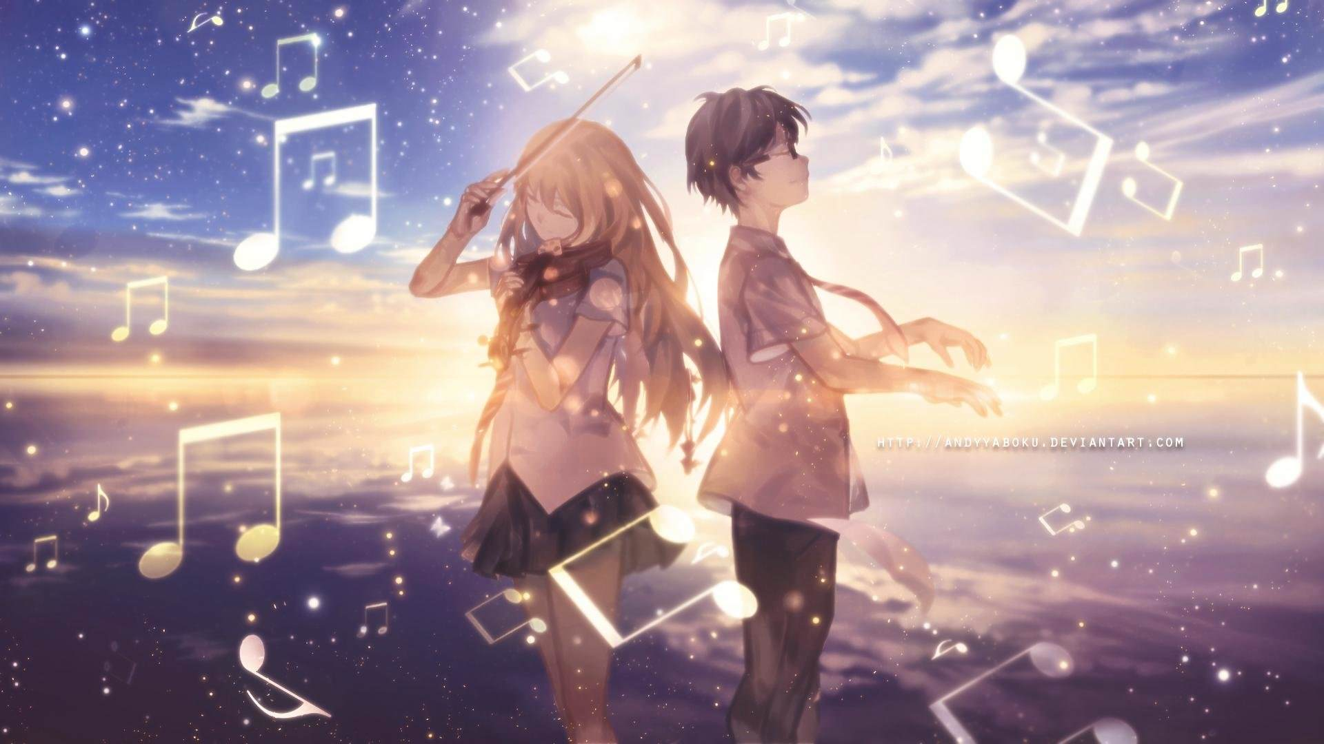 Your Lie In April Watercolor Wallpapers Top Free Your Lie