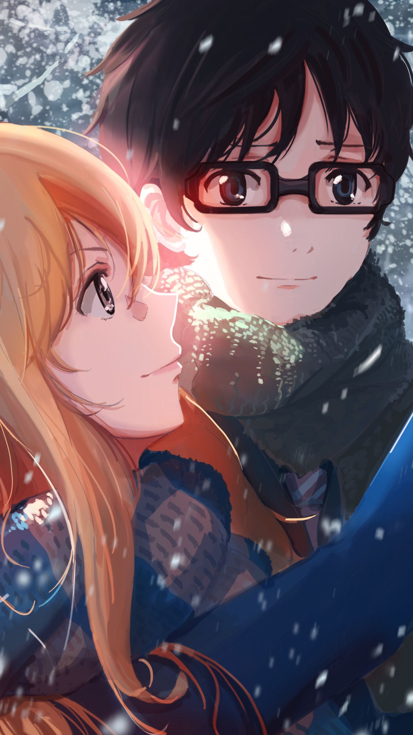 Your Lie In April Phone Wallpapers Top Free Your Lie In April
