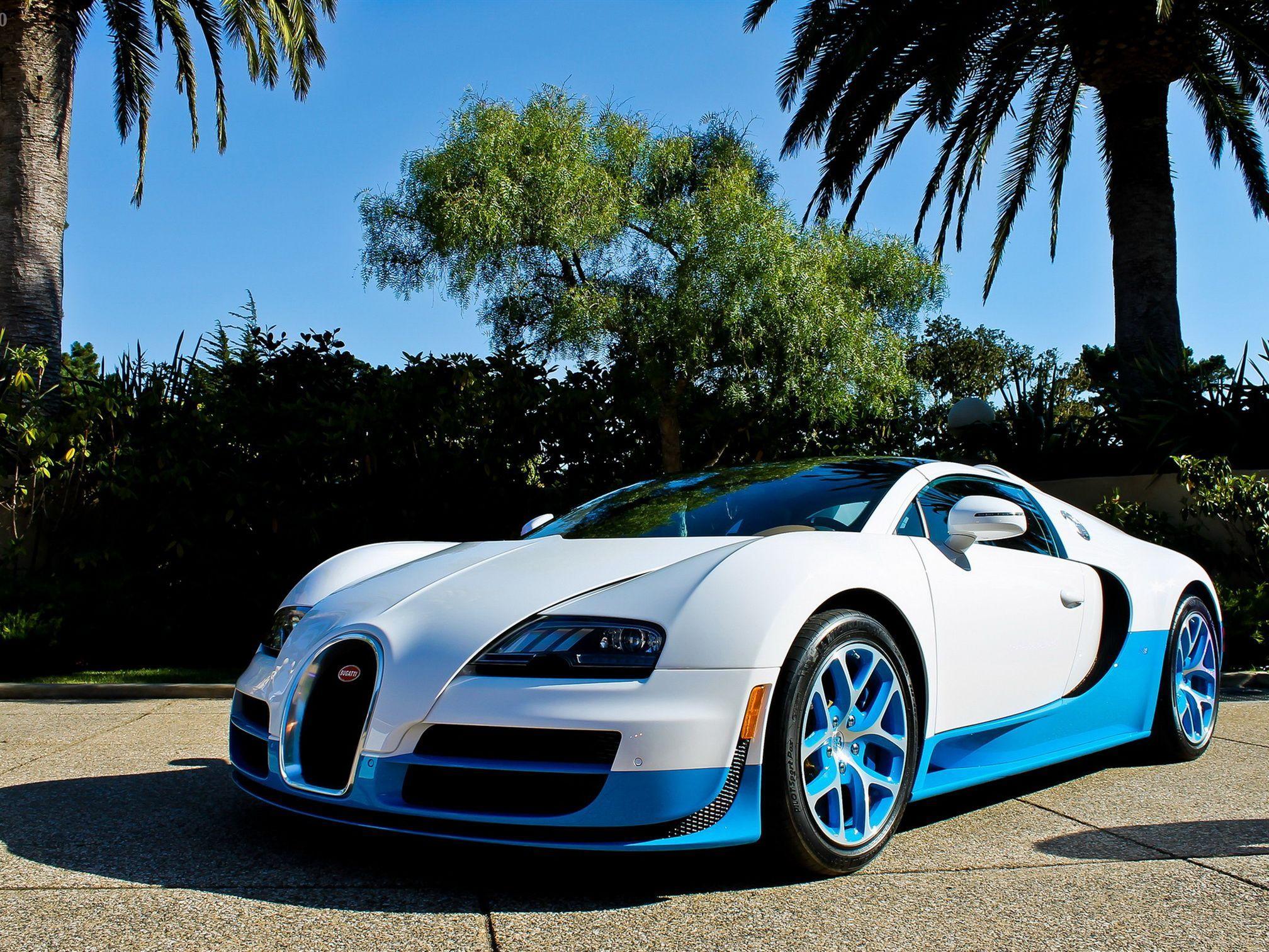Blue Bugatti Veyron Super Sport Wallpaper: Blue Bugatti Veyron Wallpapers