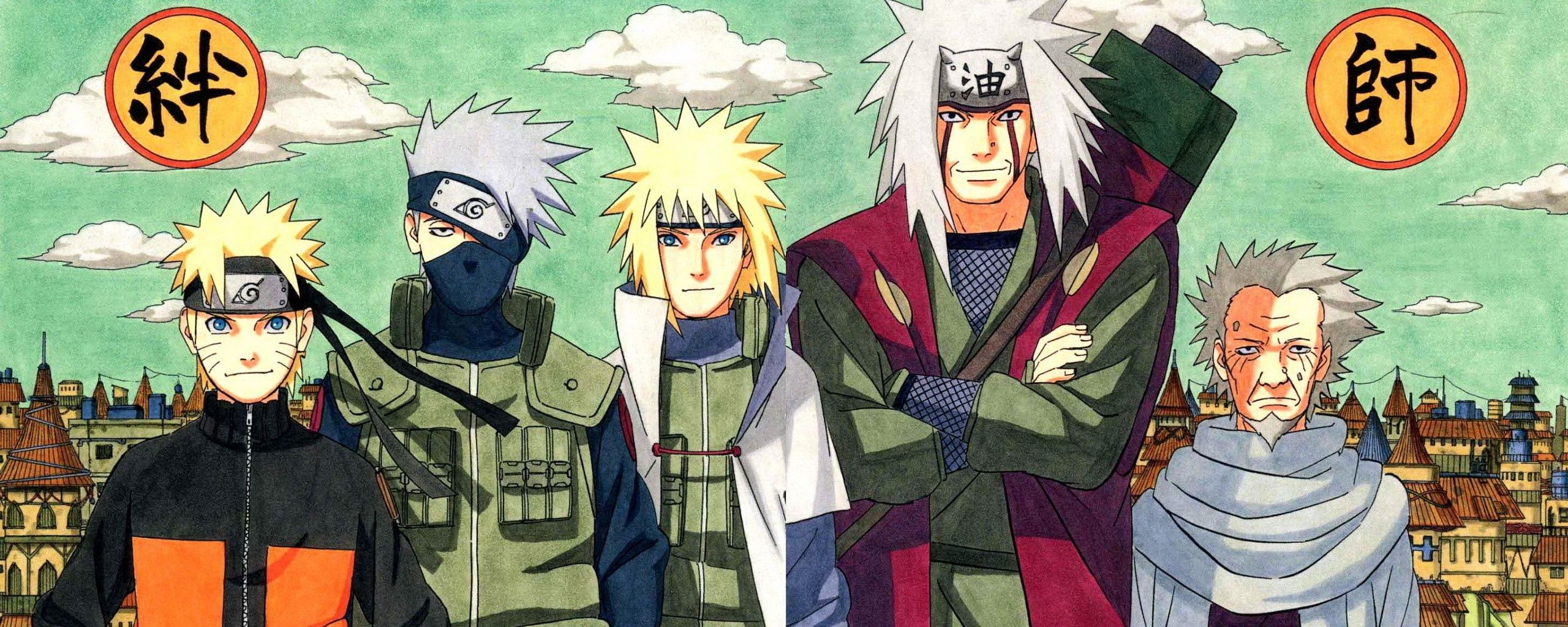 3840x1080 Wallpaper Naruto