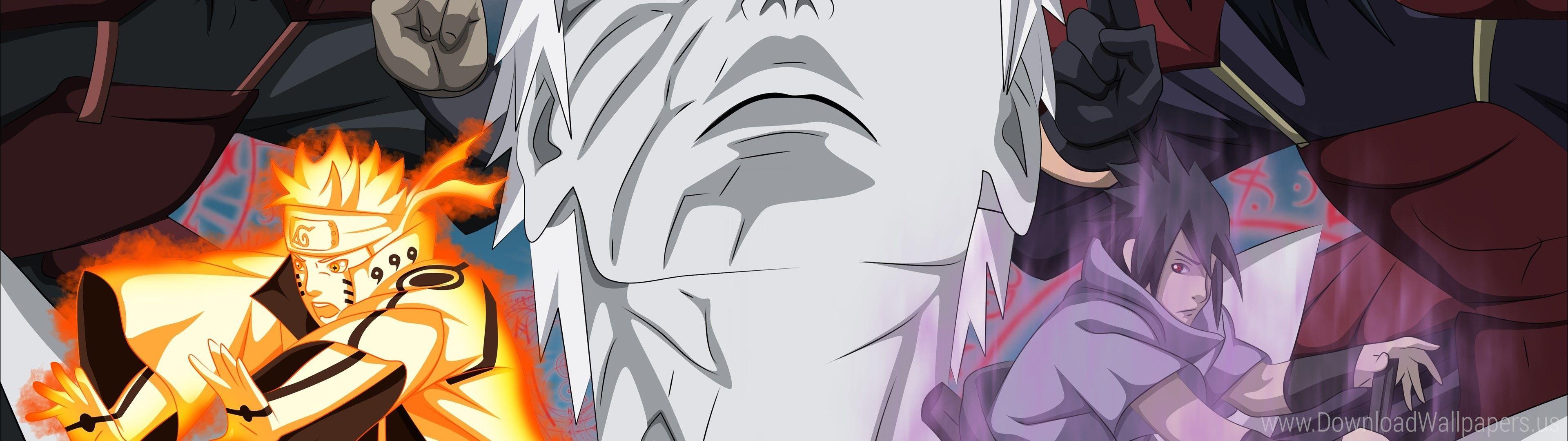 Naruto Dual Monitor Wallpapers Top Free Naruto Dual Monitor