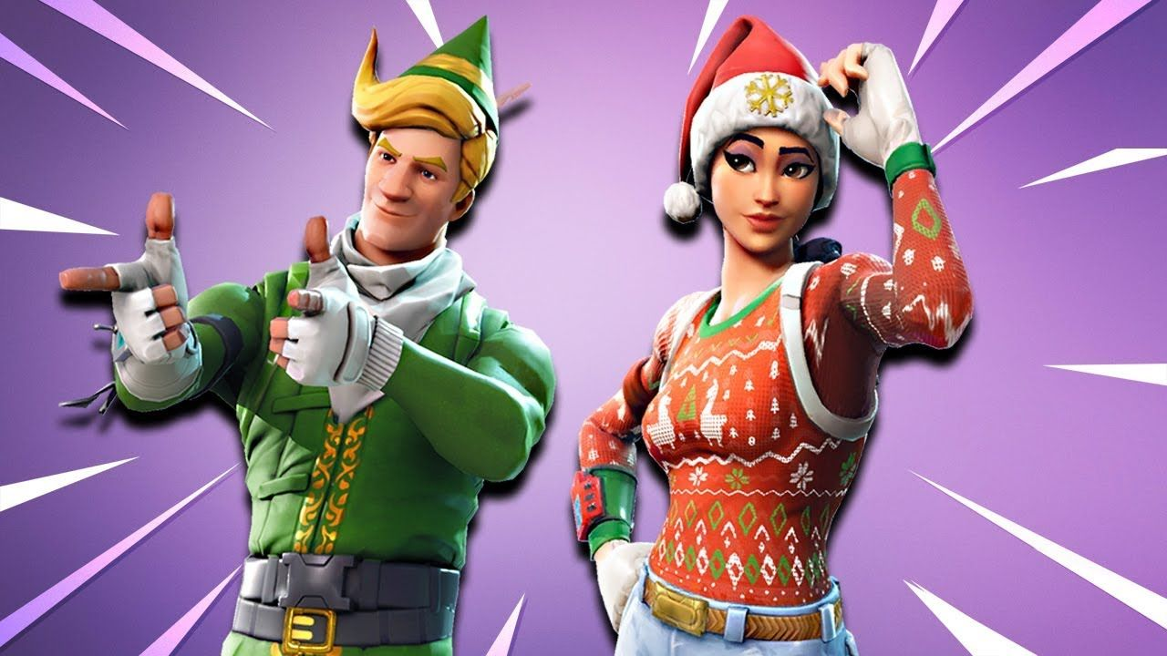 14 Best Free Fortnite Christmas Wallpapers Wallpaperaccess