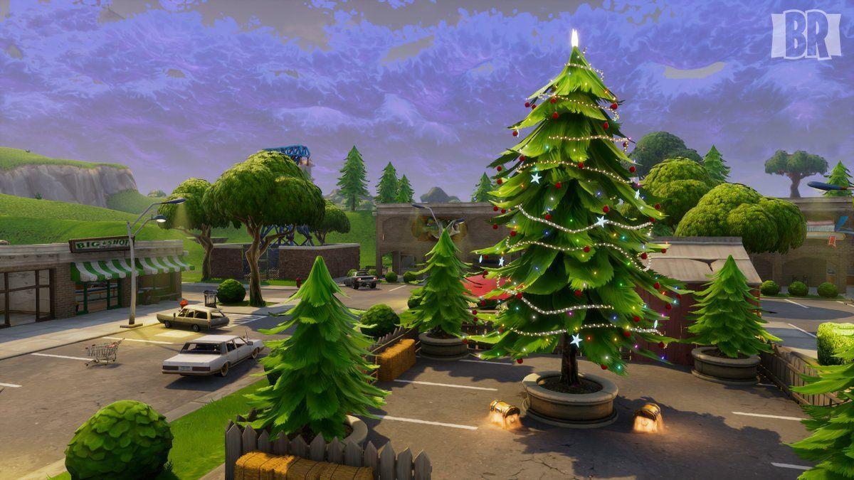 Fortnite Christmas Wallpapers Top Free Fortnite Christmas Backgrounds Wallpaperaccess