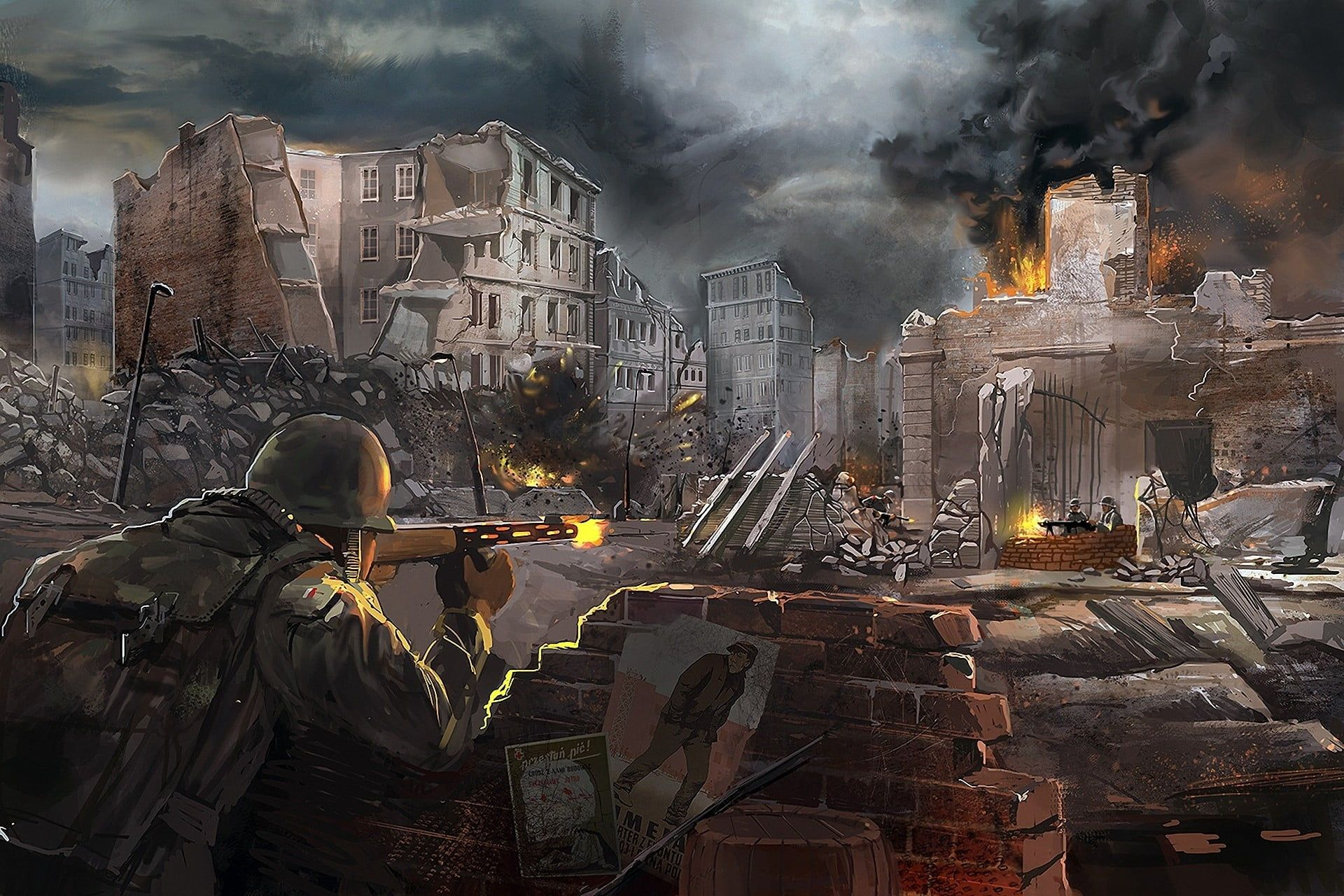 Call of Duty World War 2 Wallpapers - Top Free Call of Duty World