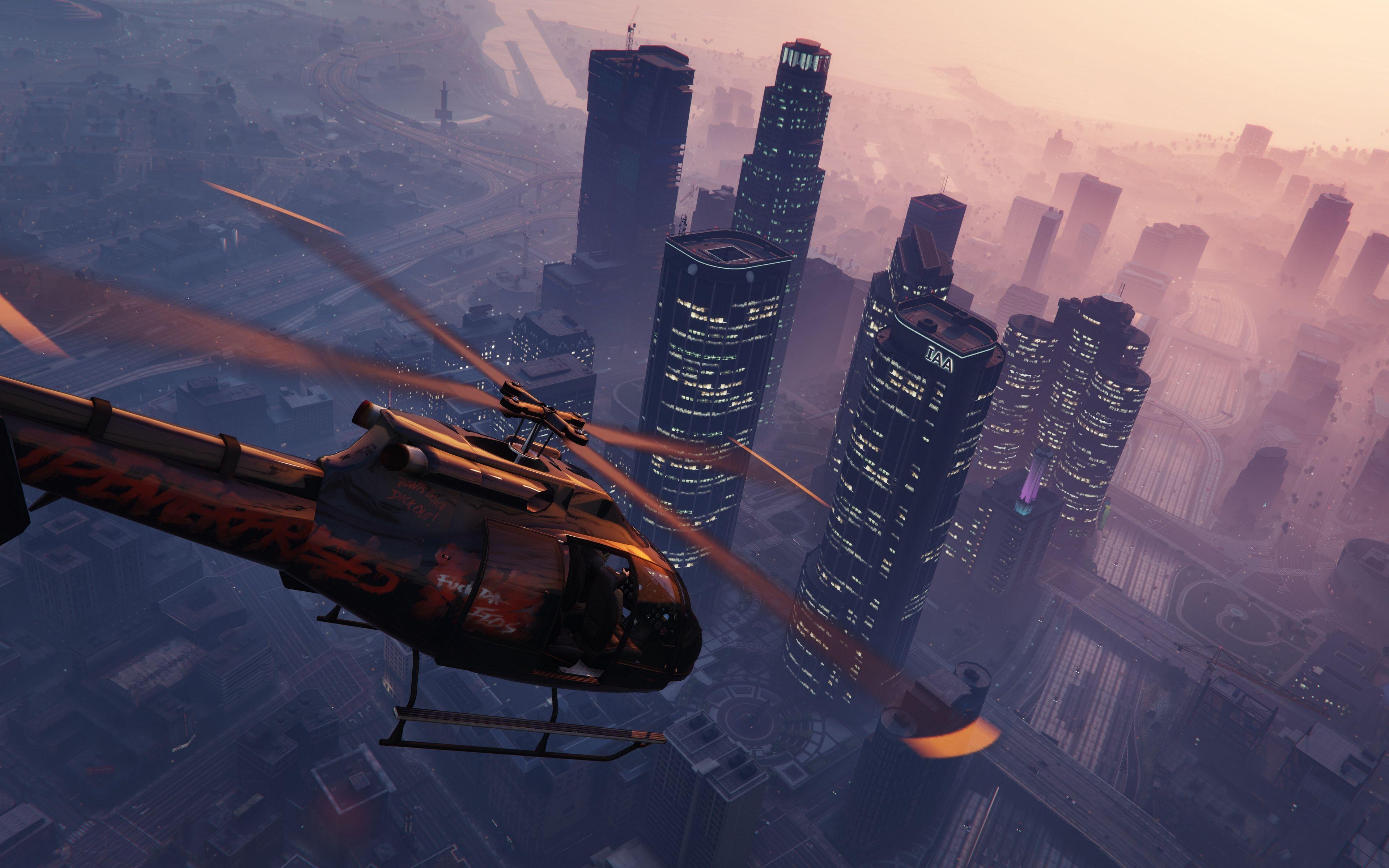 Top Free 4K GTA 5 Backgrounds