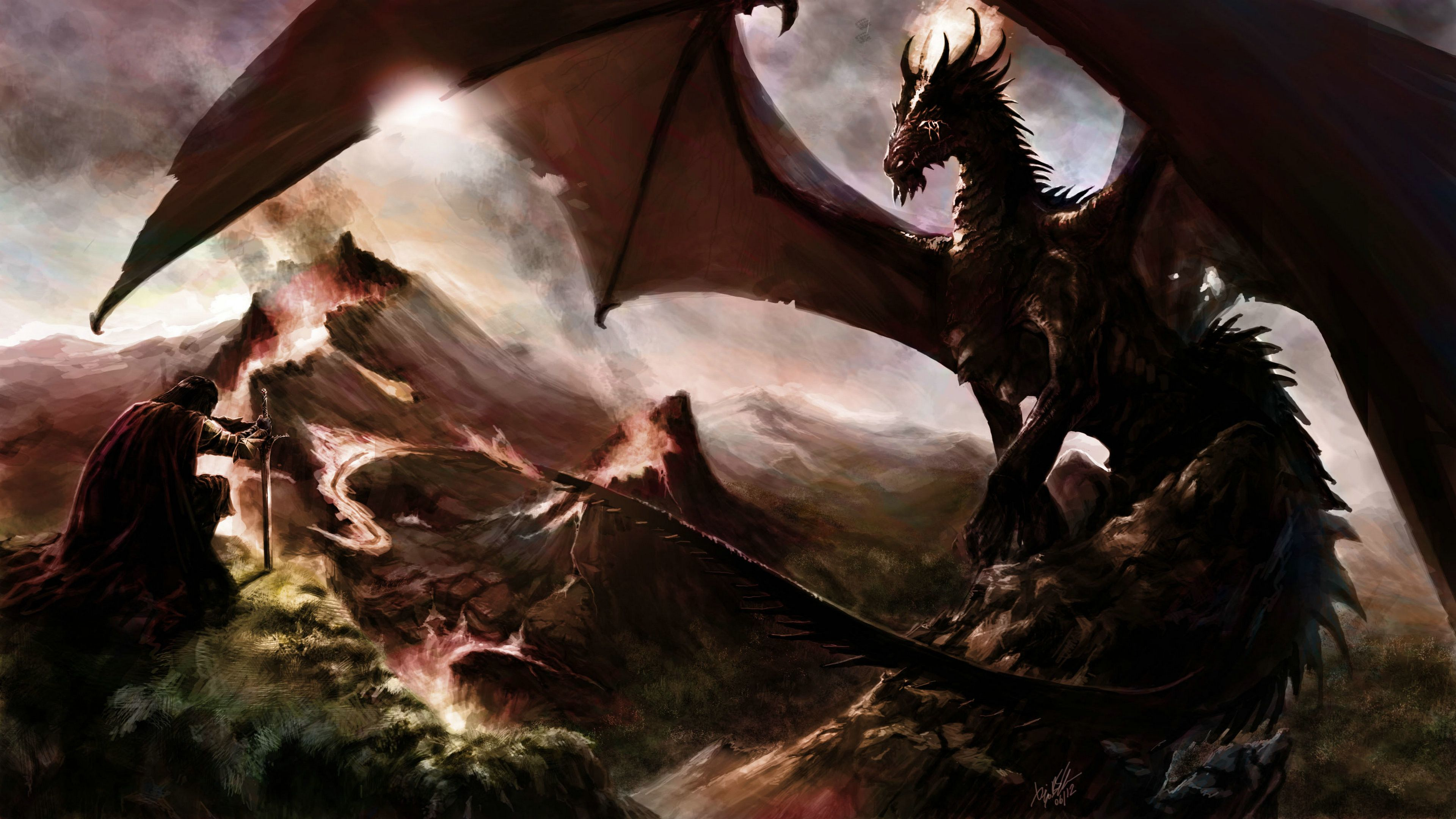 4K Ultra HD Dragon Wallpapers