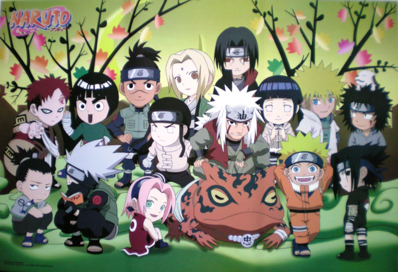 Naruto Chibi Wallpapers Top Free Naruto Chibi Backgrounds Wallpaperaccess