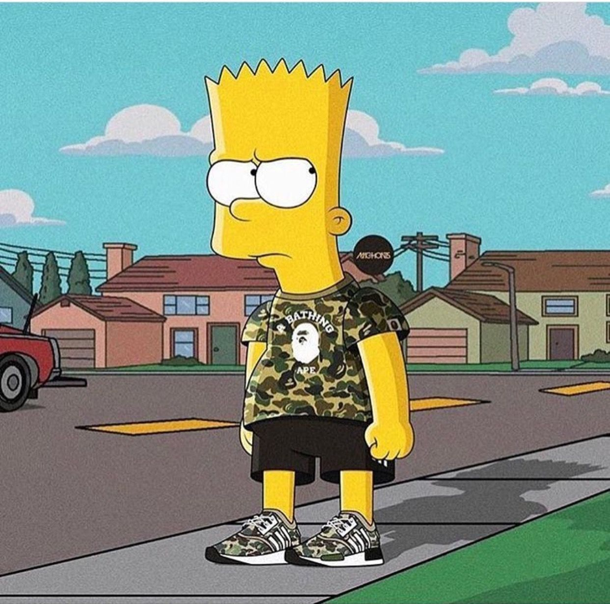Bart Simpson Wearing Brands Wallpapers - Top Free Bart Simpson