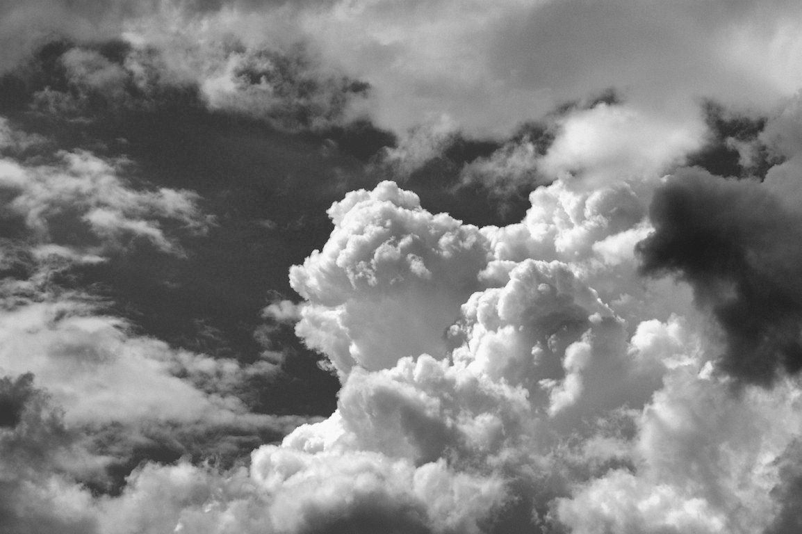 Black And White Clouds Wallpapers Top Free Black And White