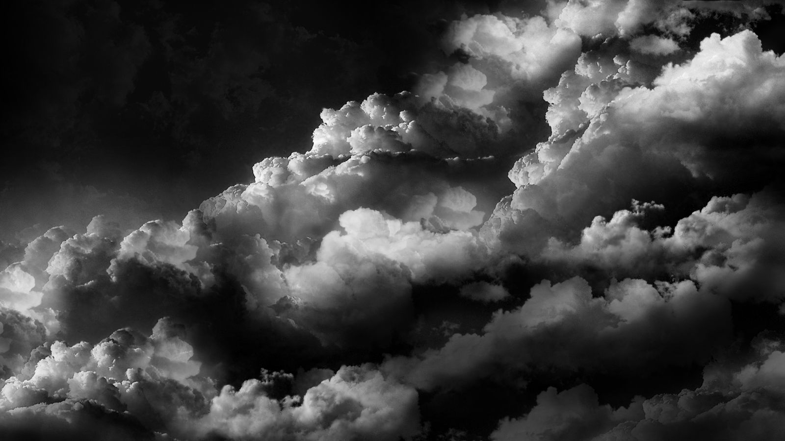 Black And White Clouds Wallpapers Top Free Black And White Clouds Backgrounds Wallpaperaccess