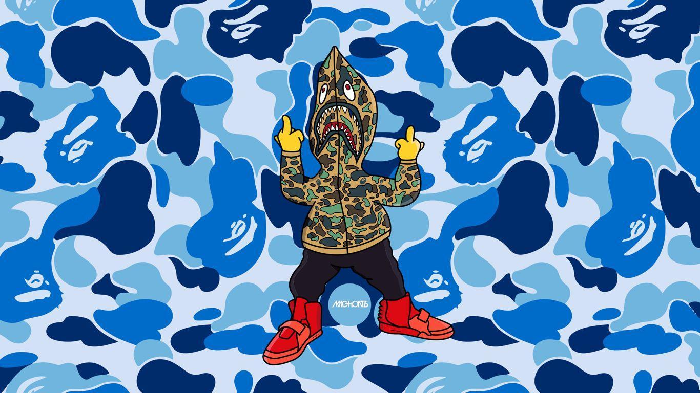 2560x1440 A Bathing Ape Wallpaper