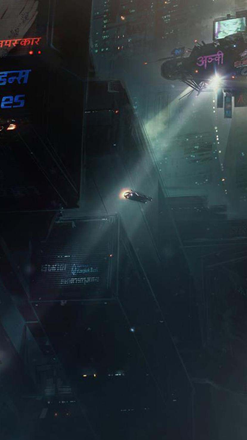 Download Blade Runner 4K Wallpaper PNG