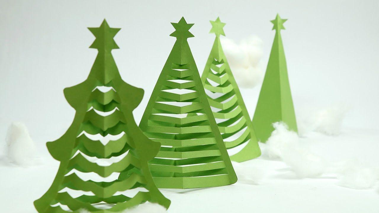 Origami Christmas Tree Wallpapers