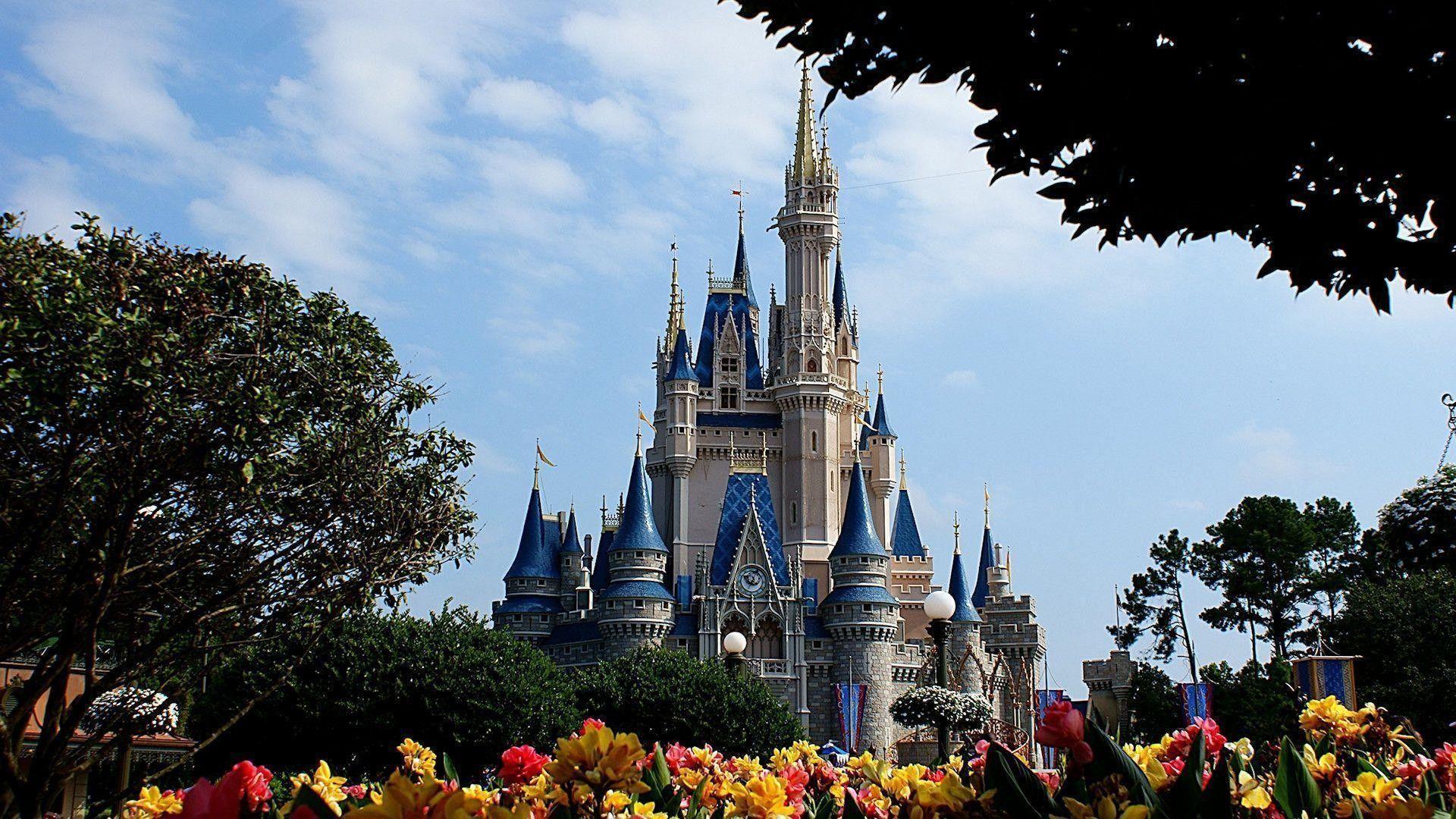 Disney World Landscape Desktop Wallpapers Top Free Disney World Landscape Desktop Backgrounds Wallpaperaccess