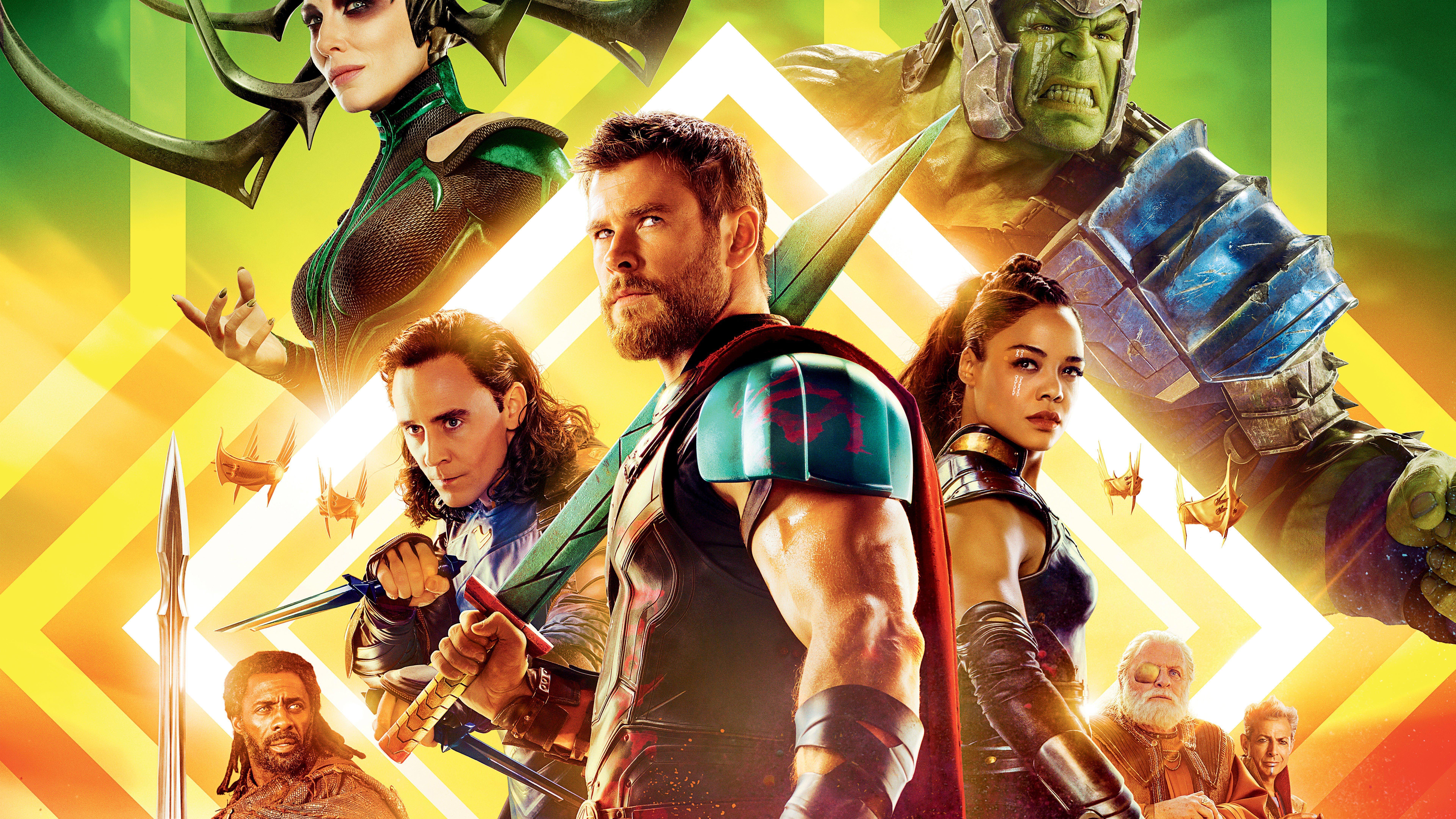 Thor Ragnarok Movie Poster Wallpapers Top Free Thor